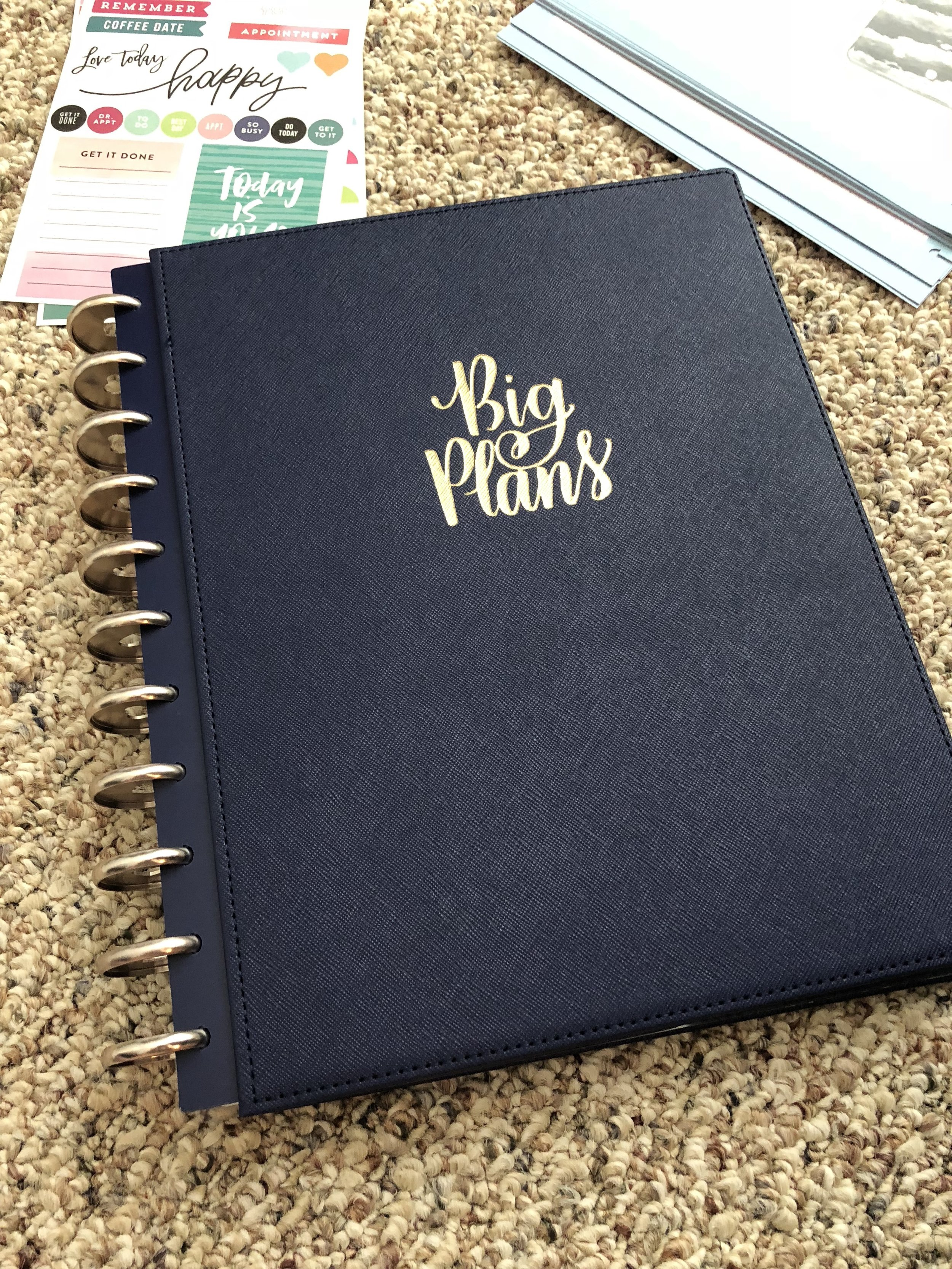 Happy planner hard cover