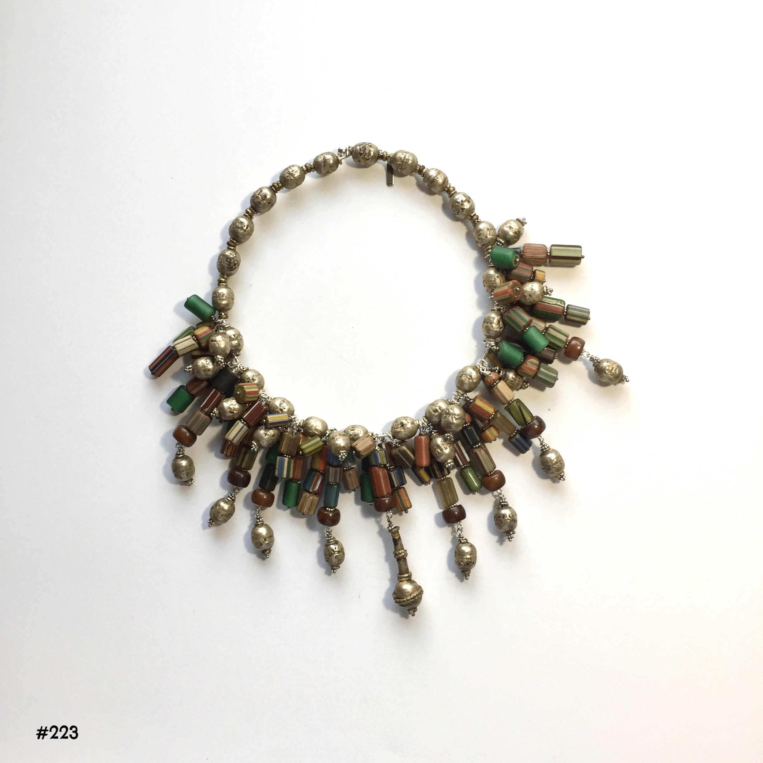 20 Large Handmade Copper Beads,Ethiopian,African Beads