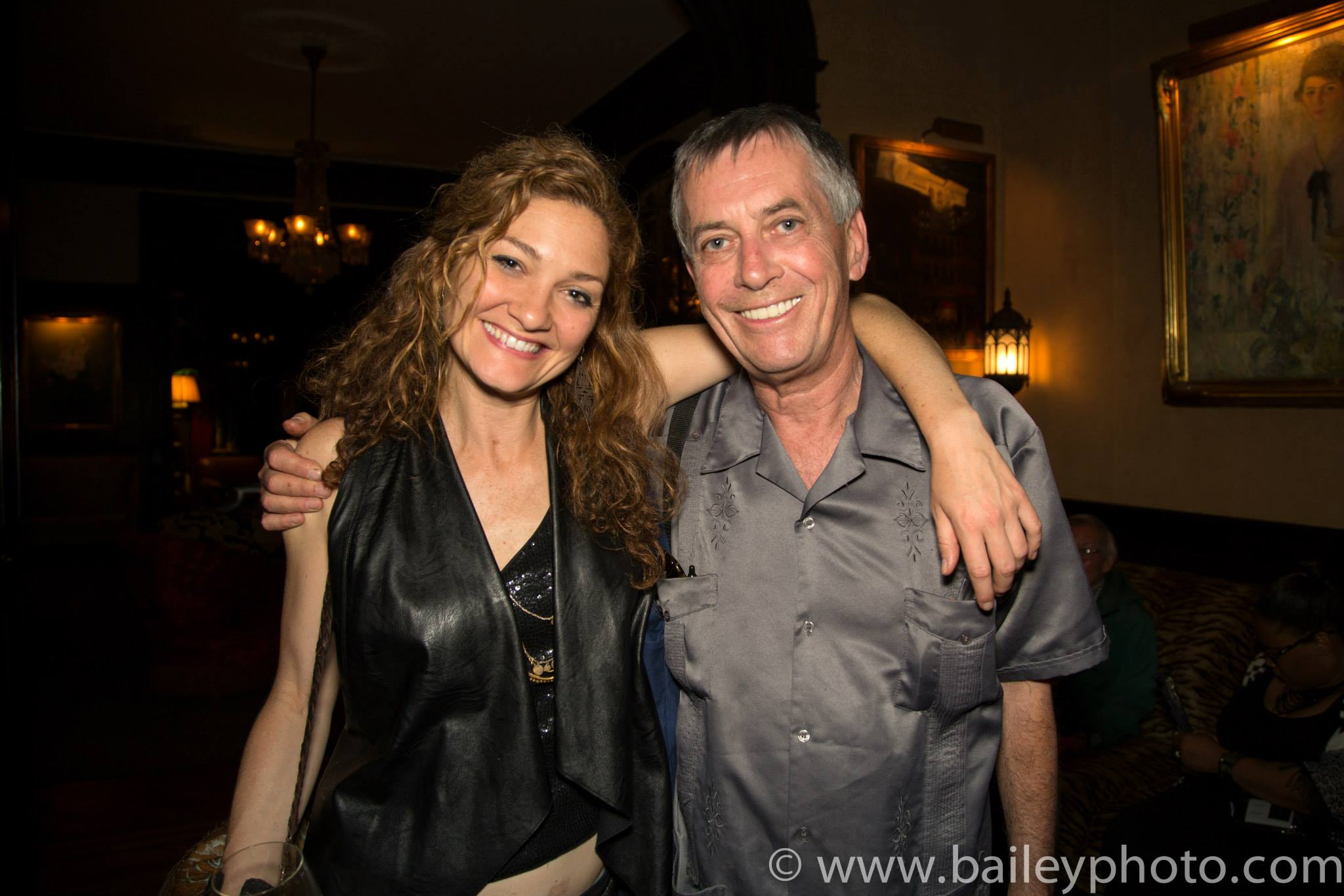 With Burning Man Founder Larry Harvey