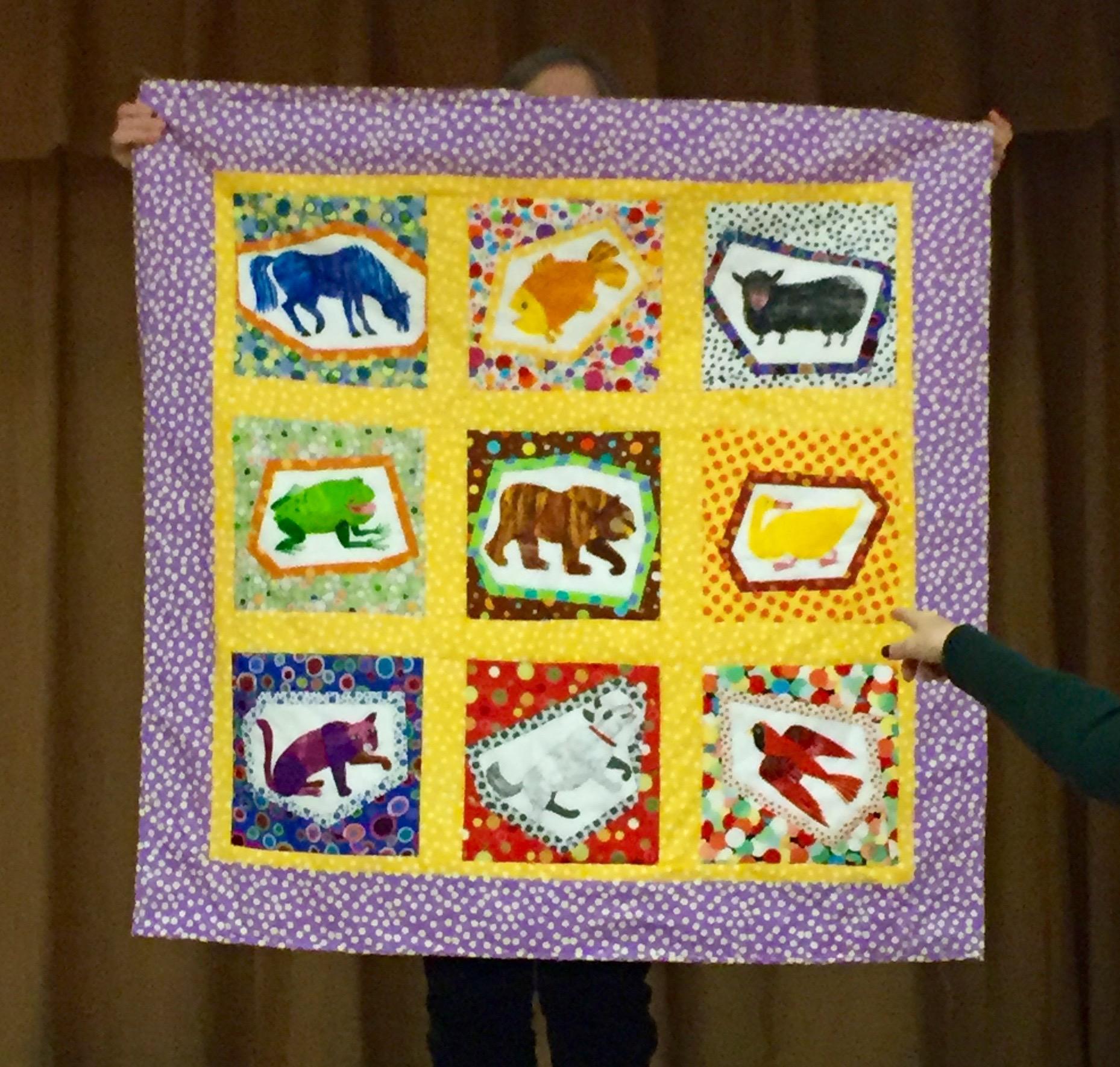 Copy of Copy of Micki Segal, baby quilt