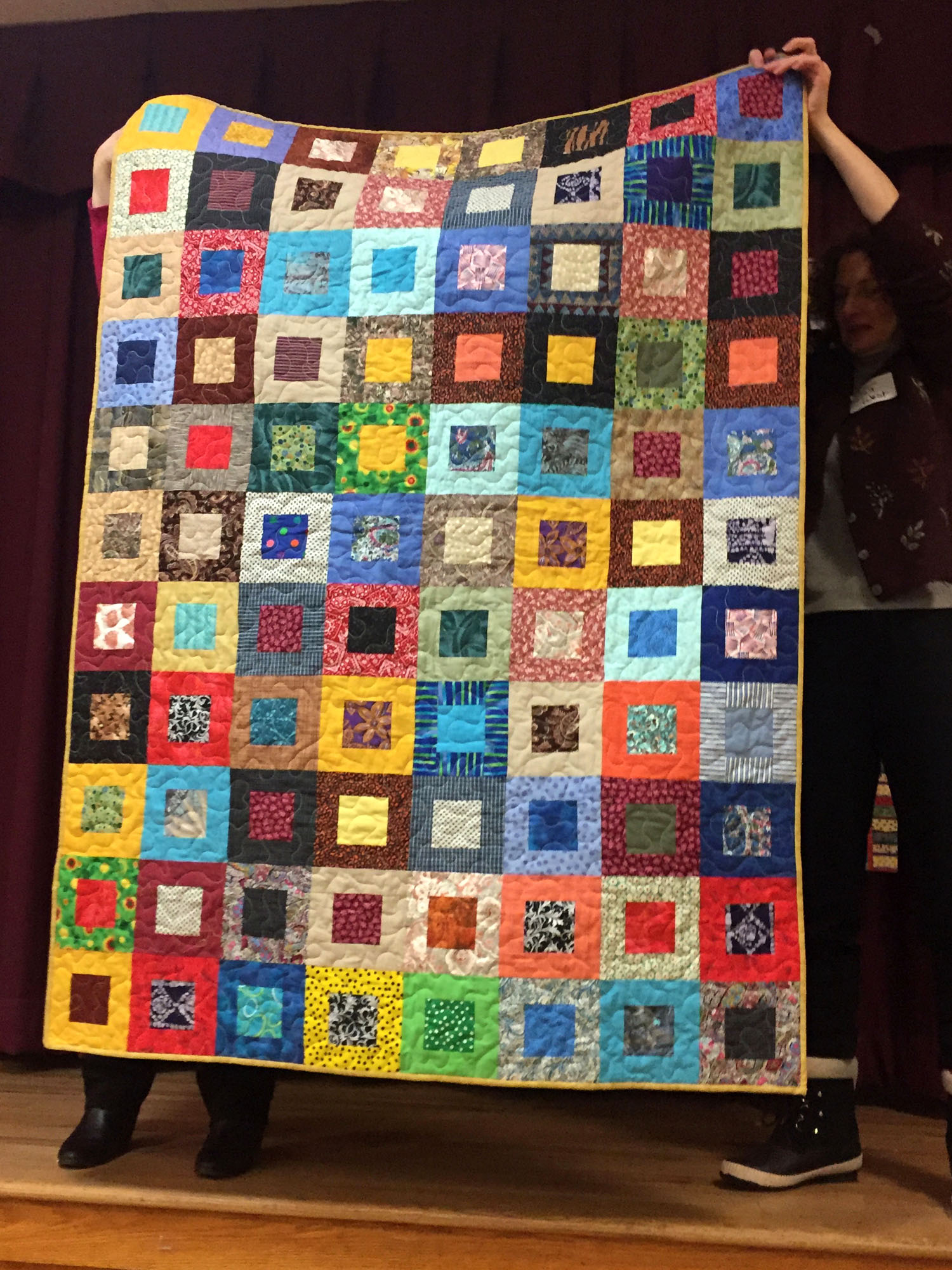 Copy of Copy of Veteran quilt by Pat Decker
