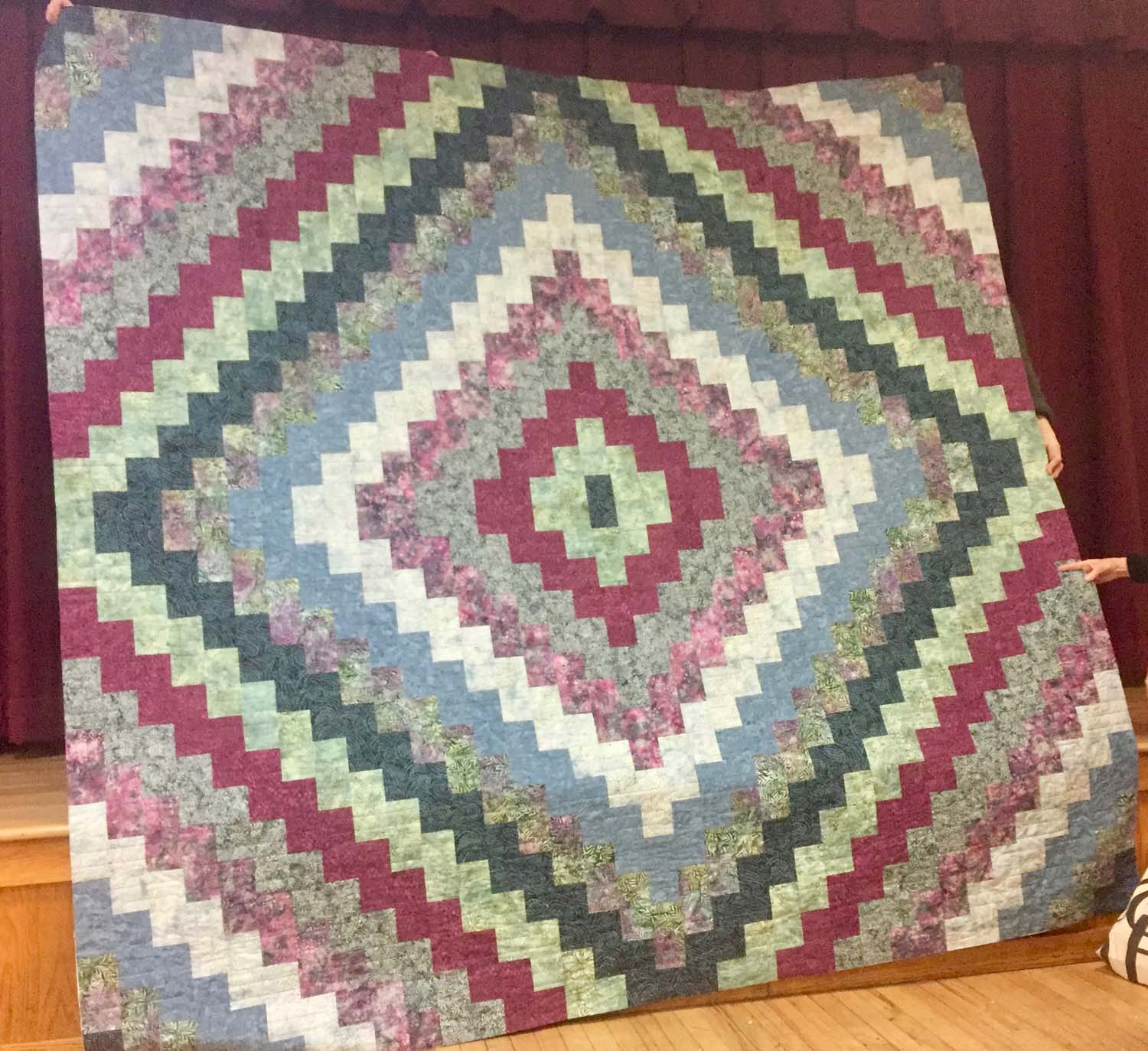Wedding Quilt by Robin Engelman