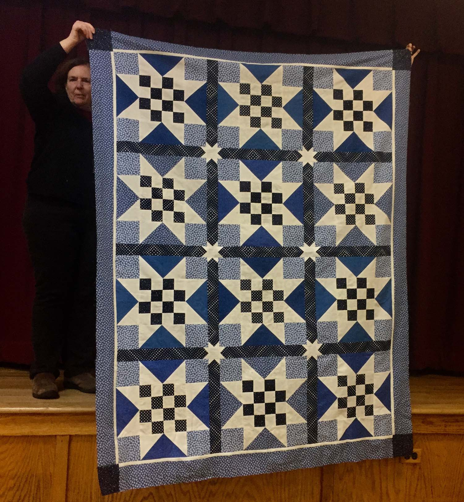 Labor of Love Quilt -- H.O.P.S. (Helping our Post 9/11 Survivors)for 9-11 survivor families by Valerie Turer