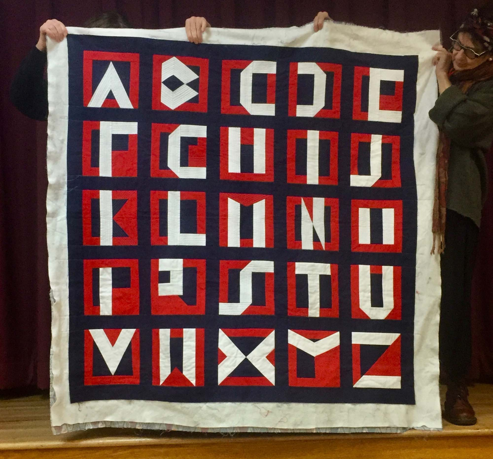 ABC quilt by Michael Sengstack