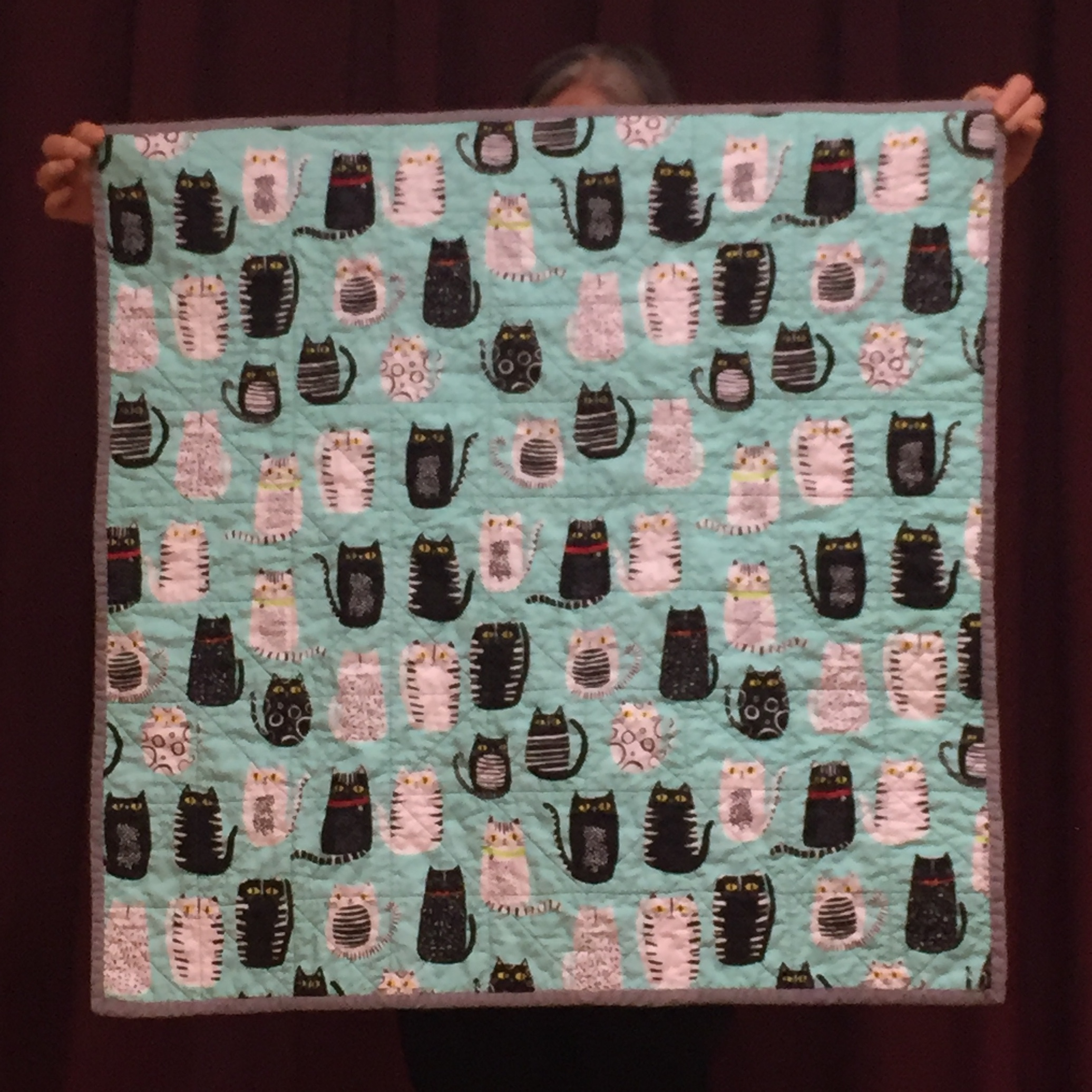 baby quilt (back)