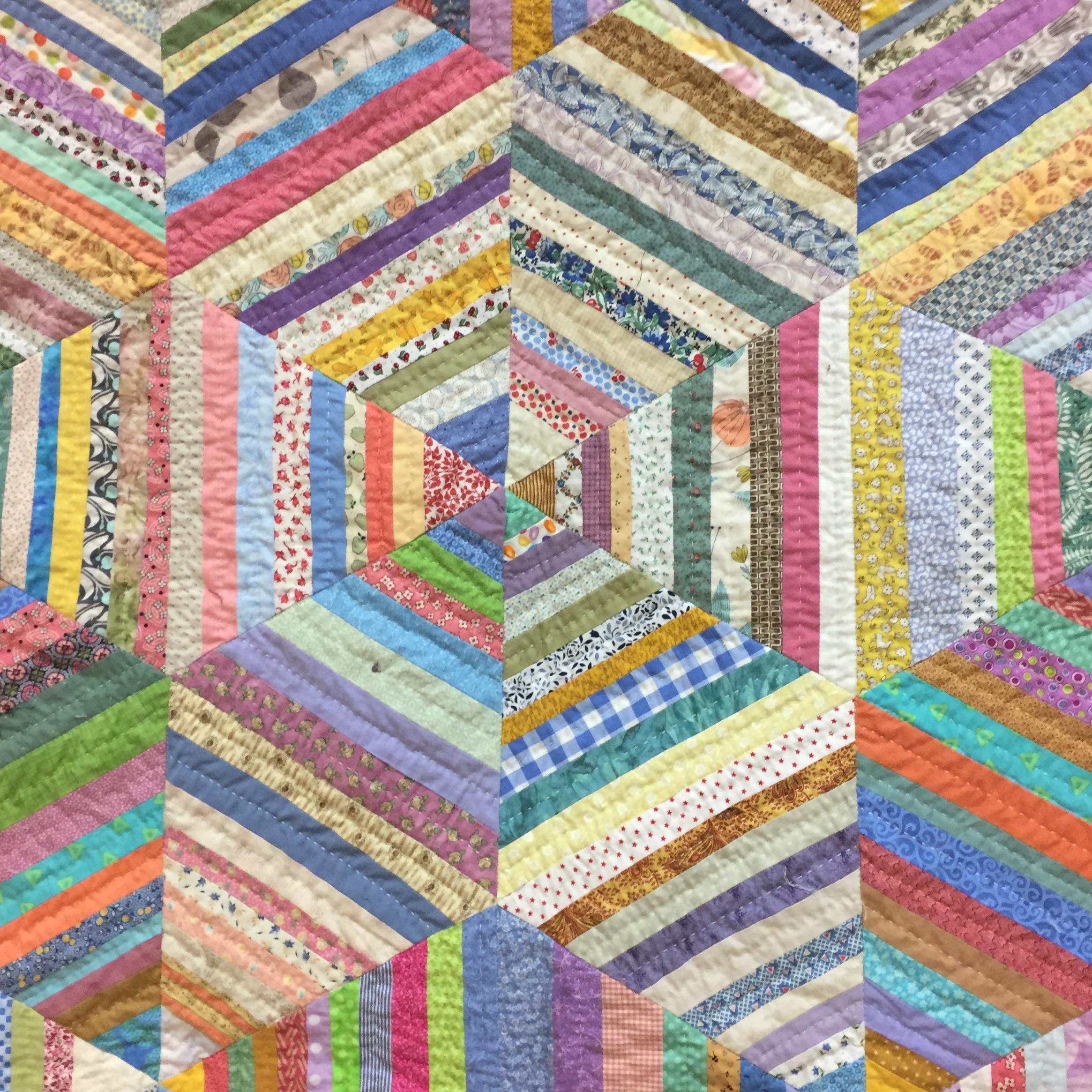 String quilt detail