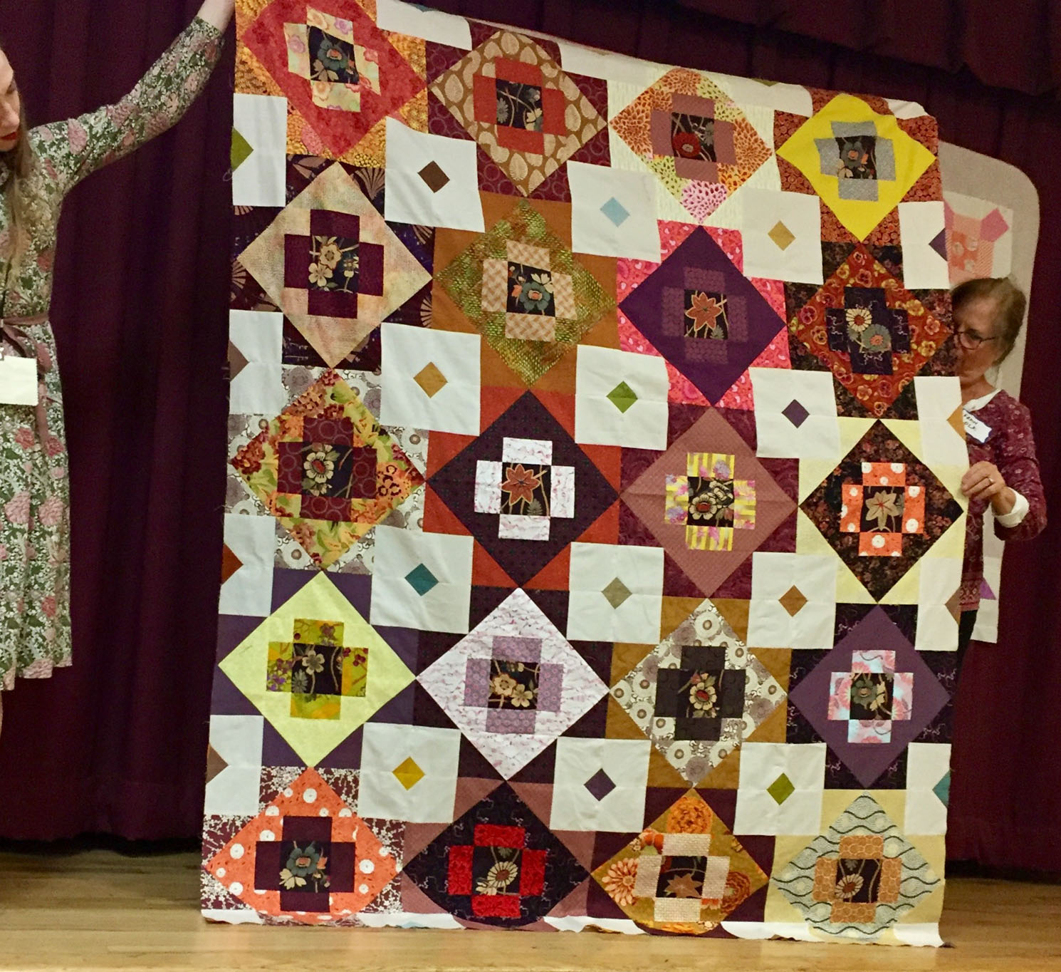 Meadowland quilt by Margaret Marcy Emerson