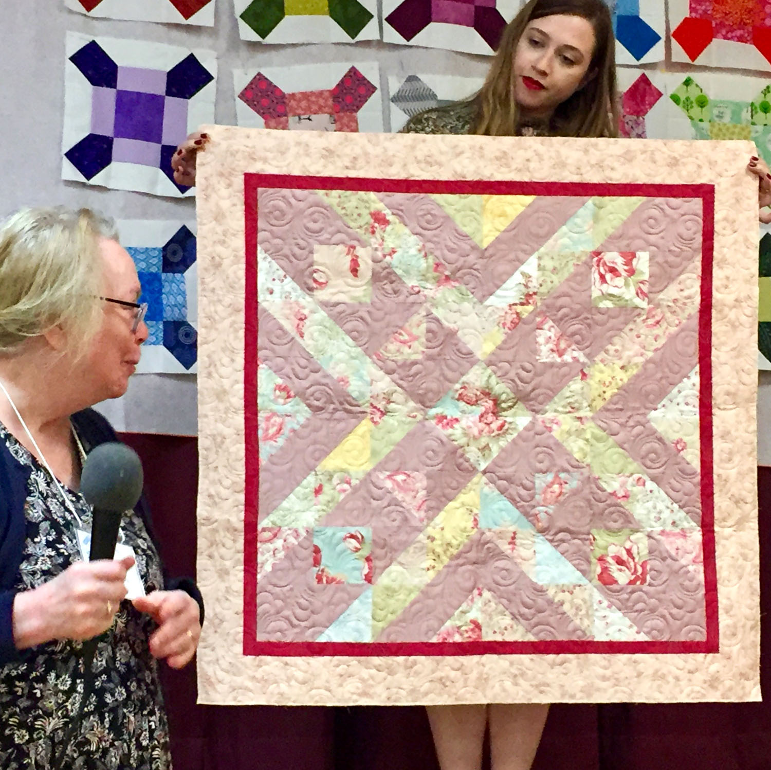 Baby Quilt by Martha Musgrove