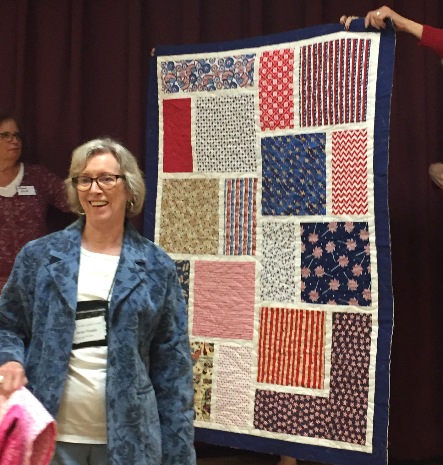 Quilt by Janet Finello