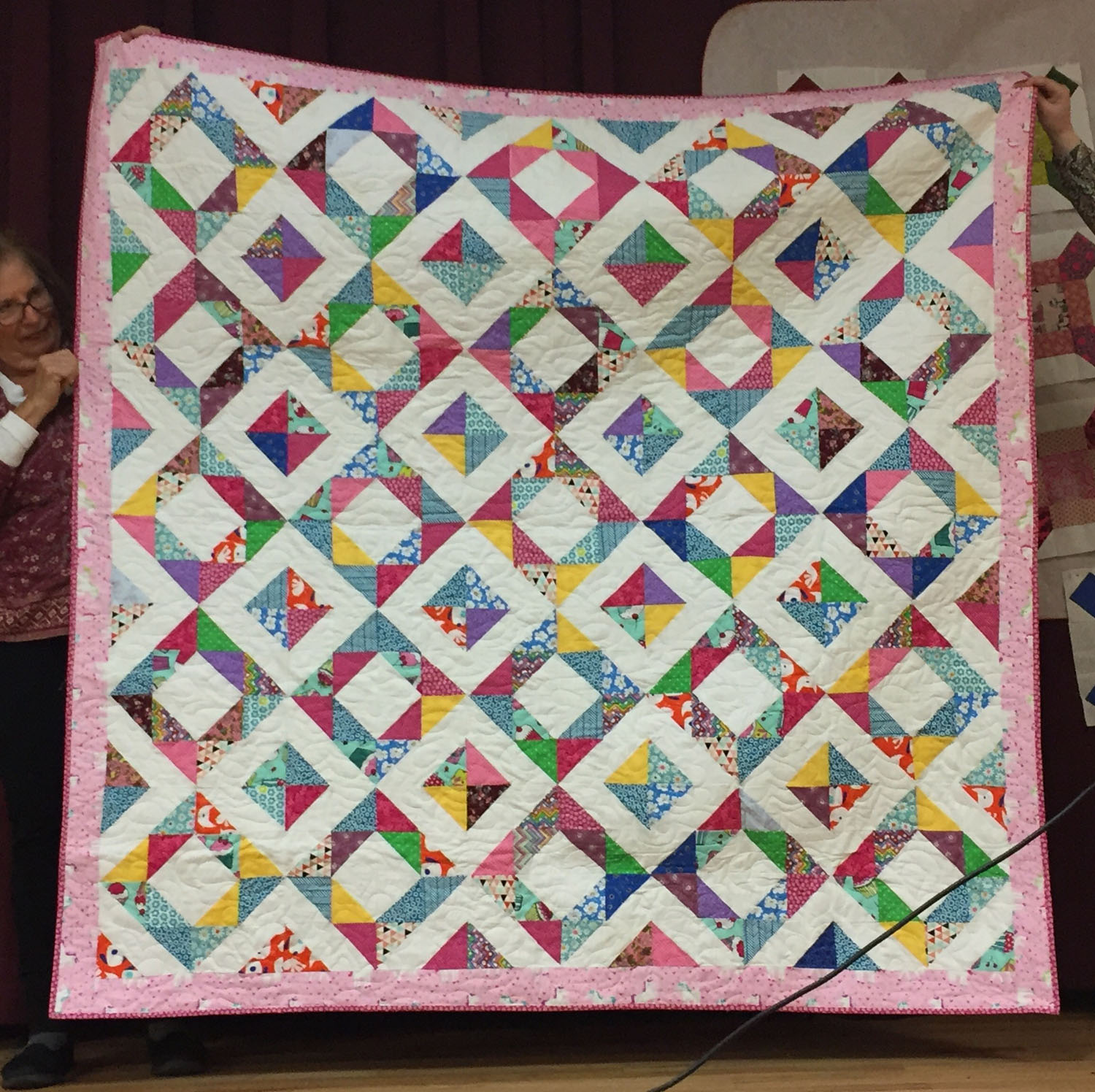 Aubrey's quilt by Margraret English