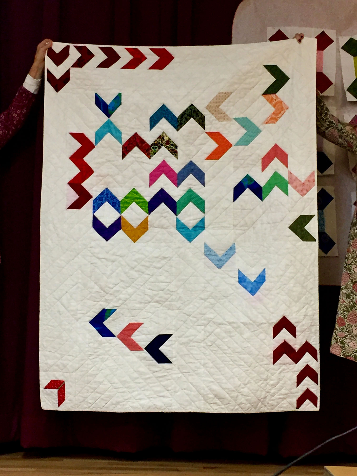 Block of the Month quilt by Andrew Hansen