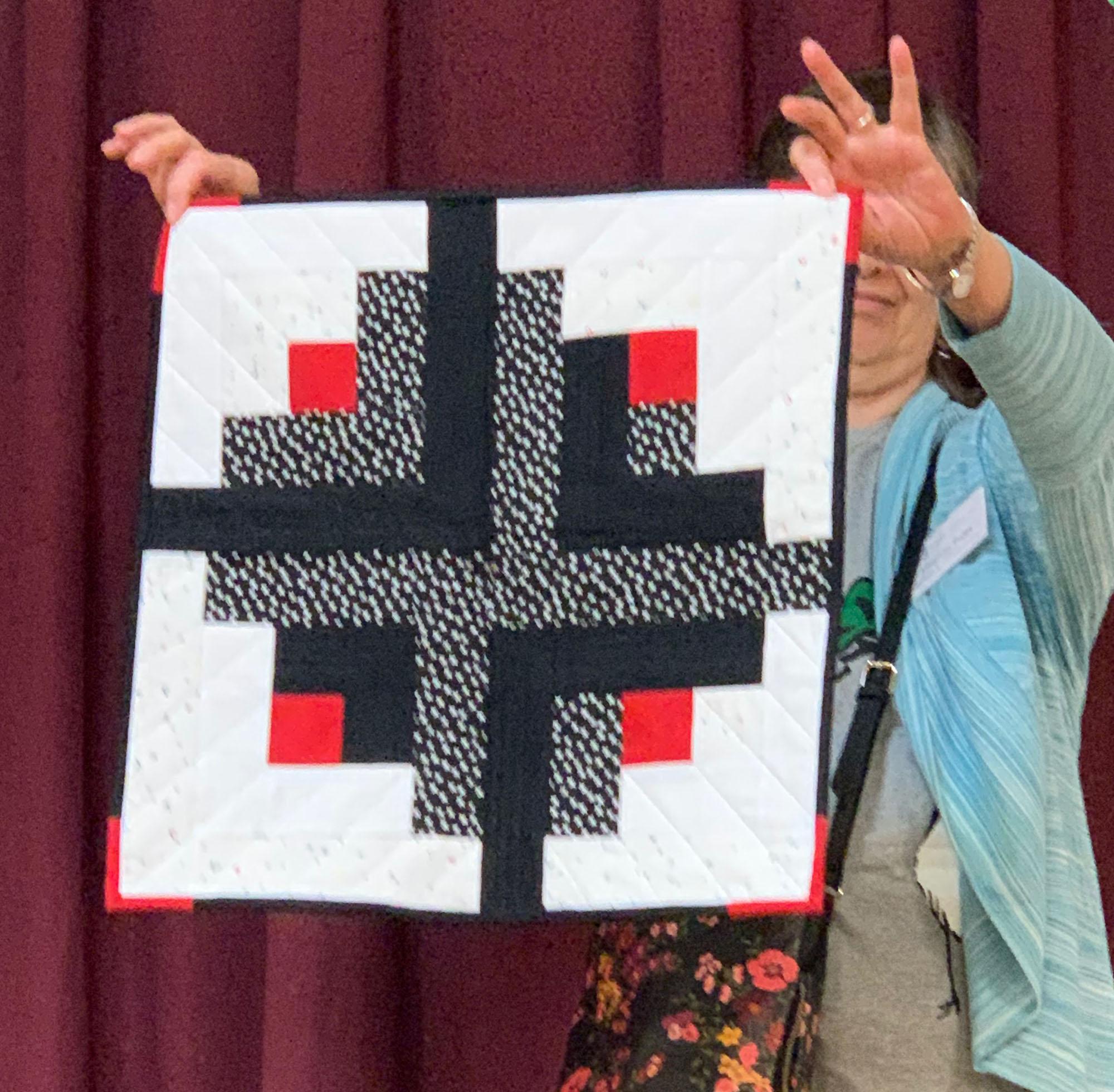 Andrew Hansen, mini quilt