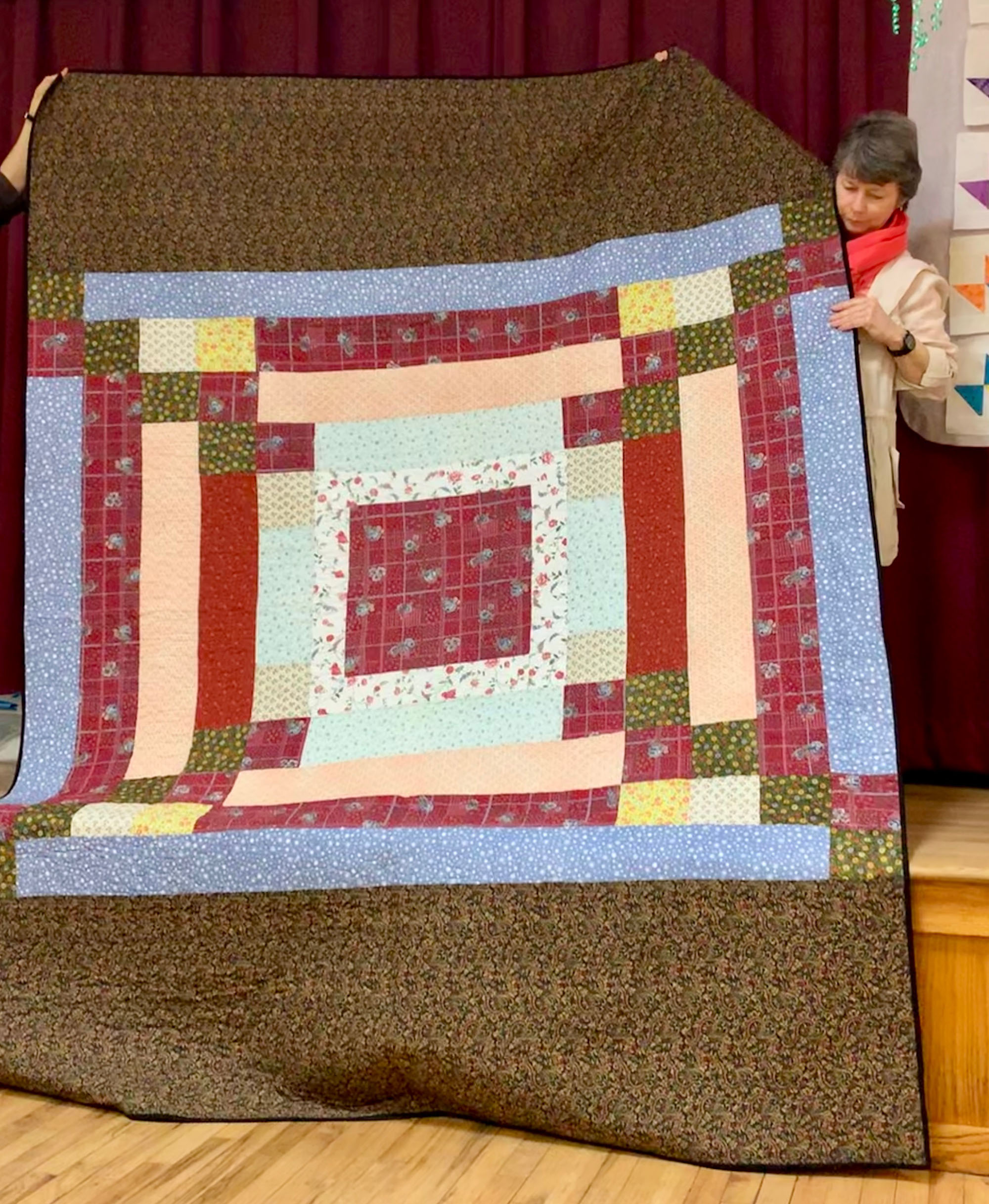 Completed Comfort Quilt