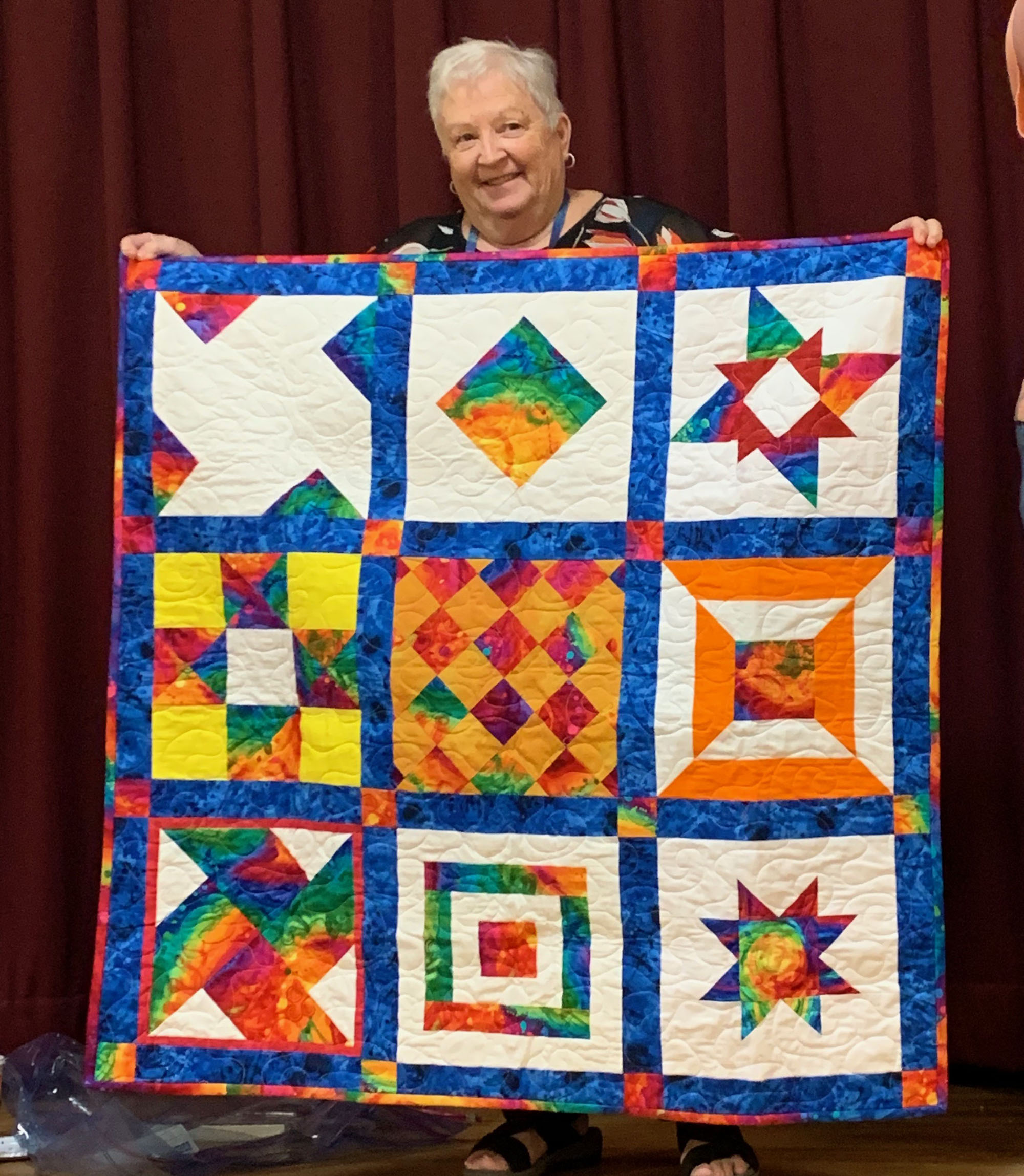 Raffle quilt — to be raffled off at our June meeting