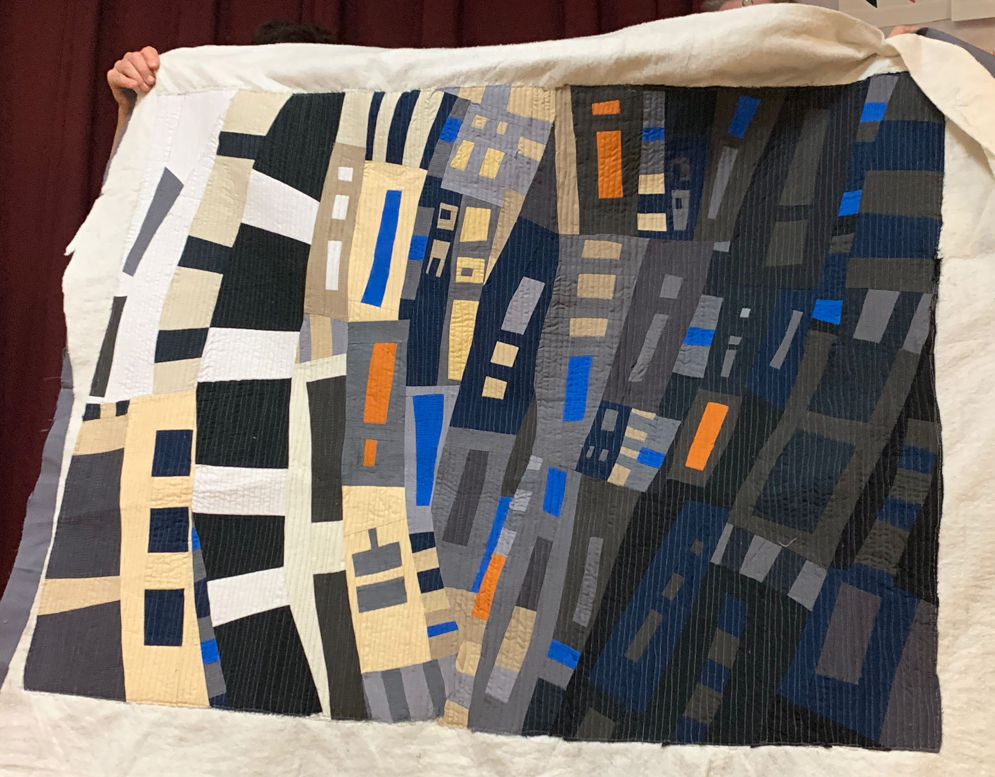 Quilt homework #1, by Ellen Piccolo