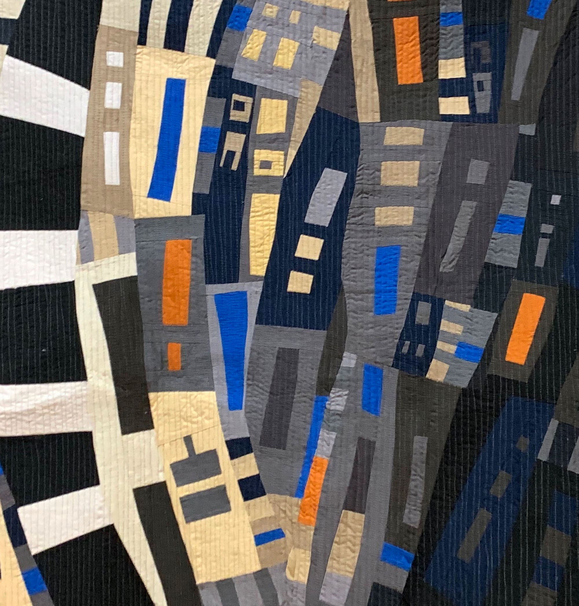 Quilt homework detail by Ellen Piccolo
