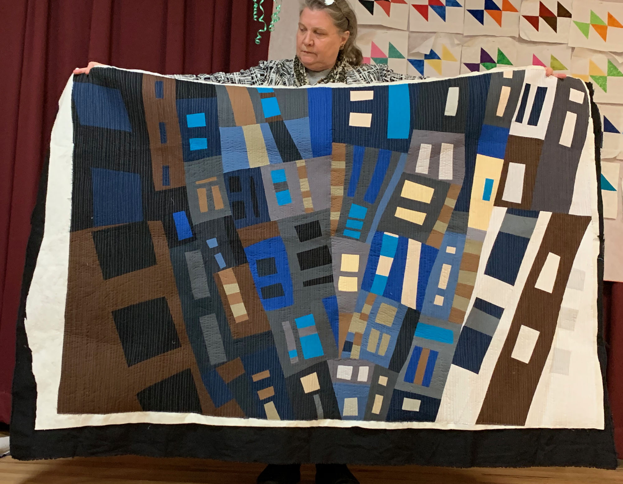 Quilt homework #2, by Ellen Piccolo