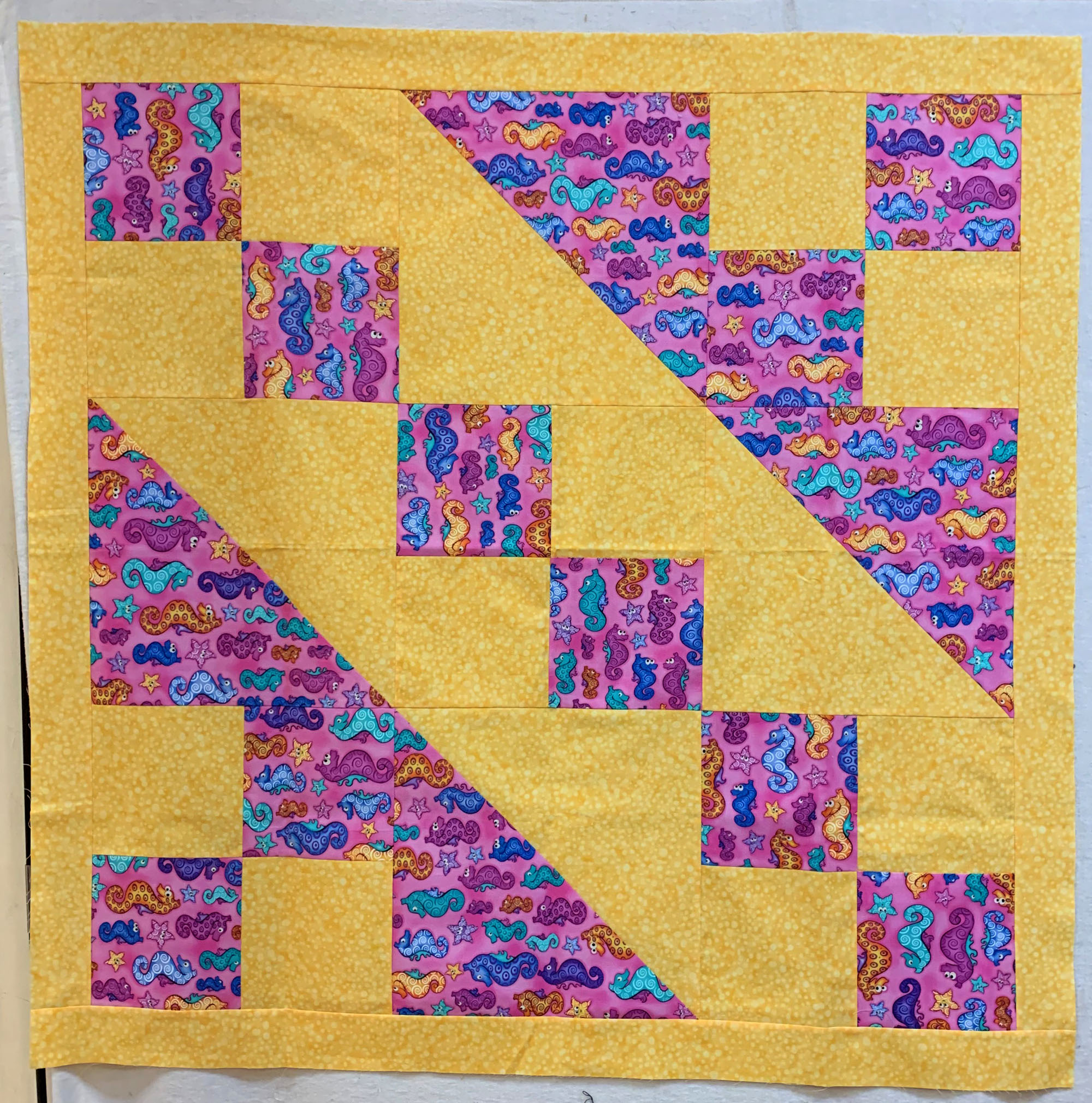 May workshop: Upsizing a quilt block into a quilt