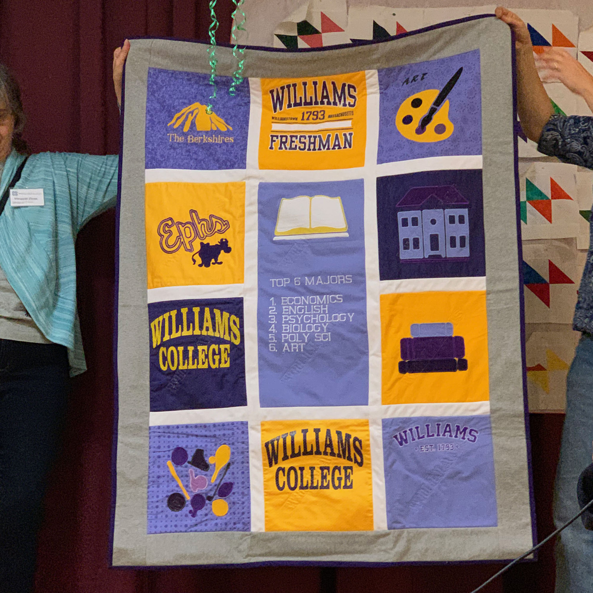 Williams quilt, by Alexis Delbridge