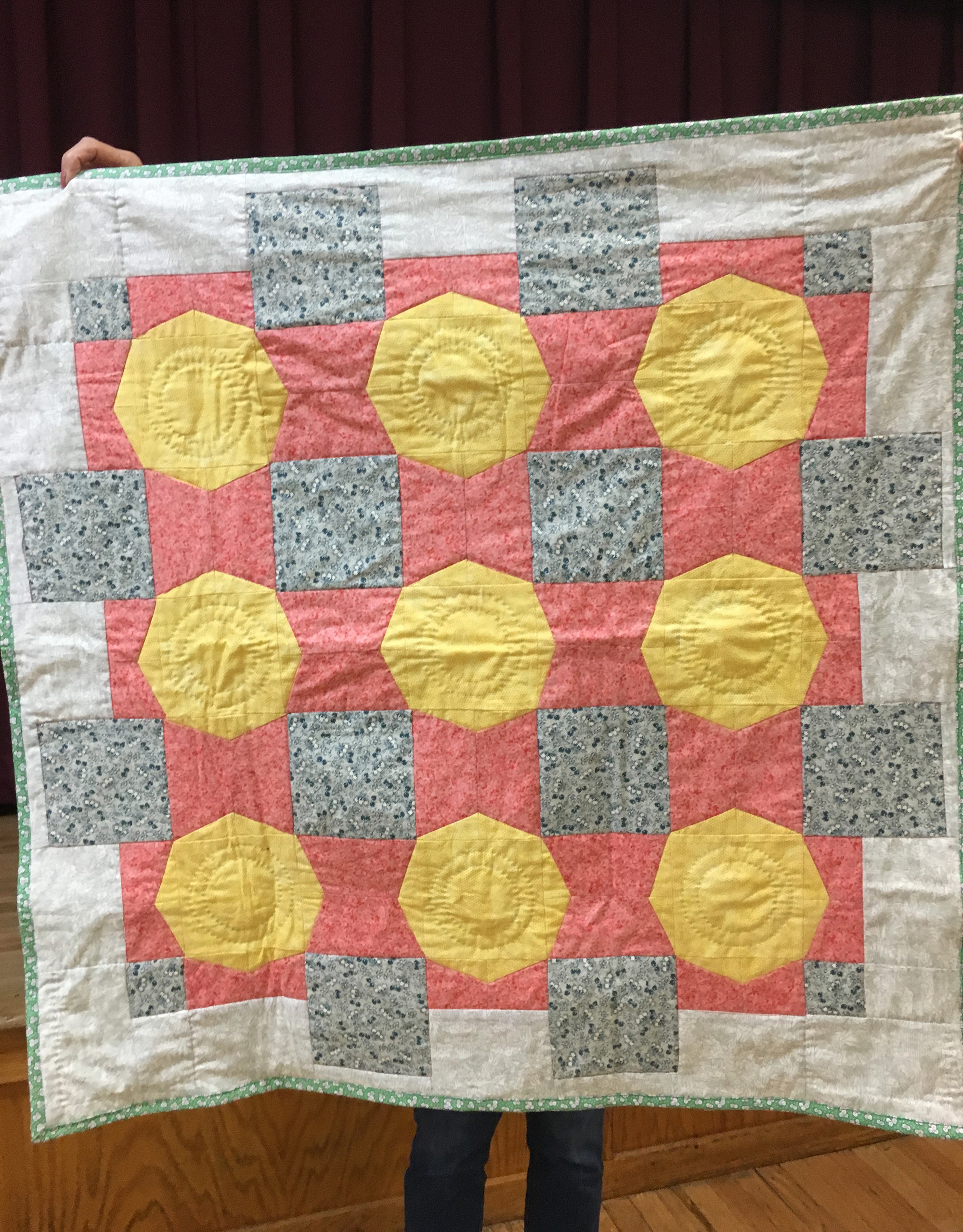 Baby quilt by Kate Haller