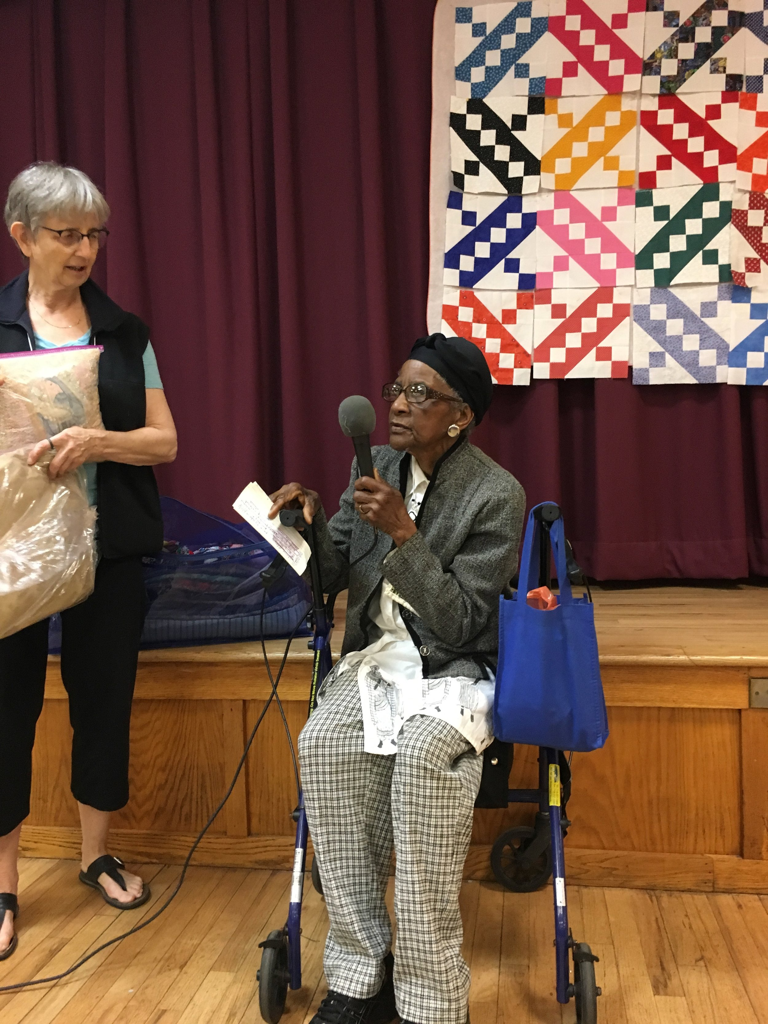 Long-time guild member Emelda Cox shares her latest work.