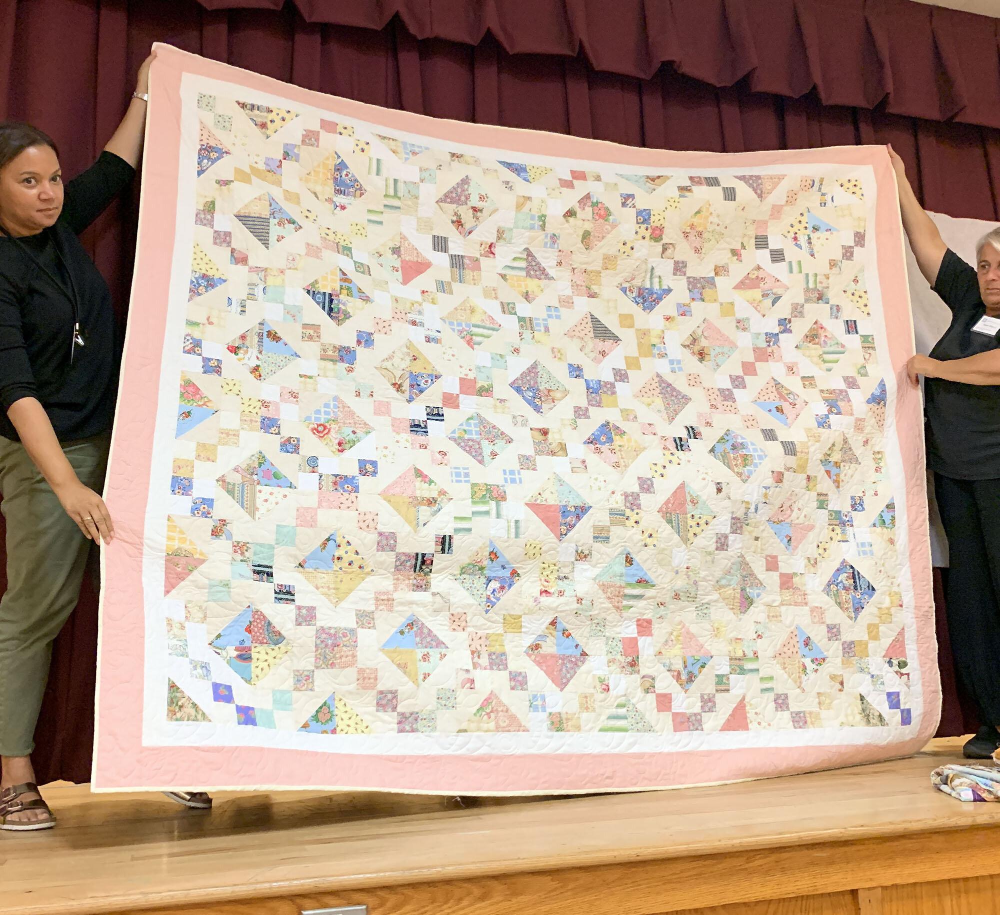 Joan's Wedding Quilt by Linda McNeeley