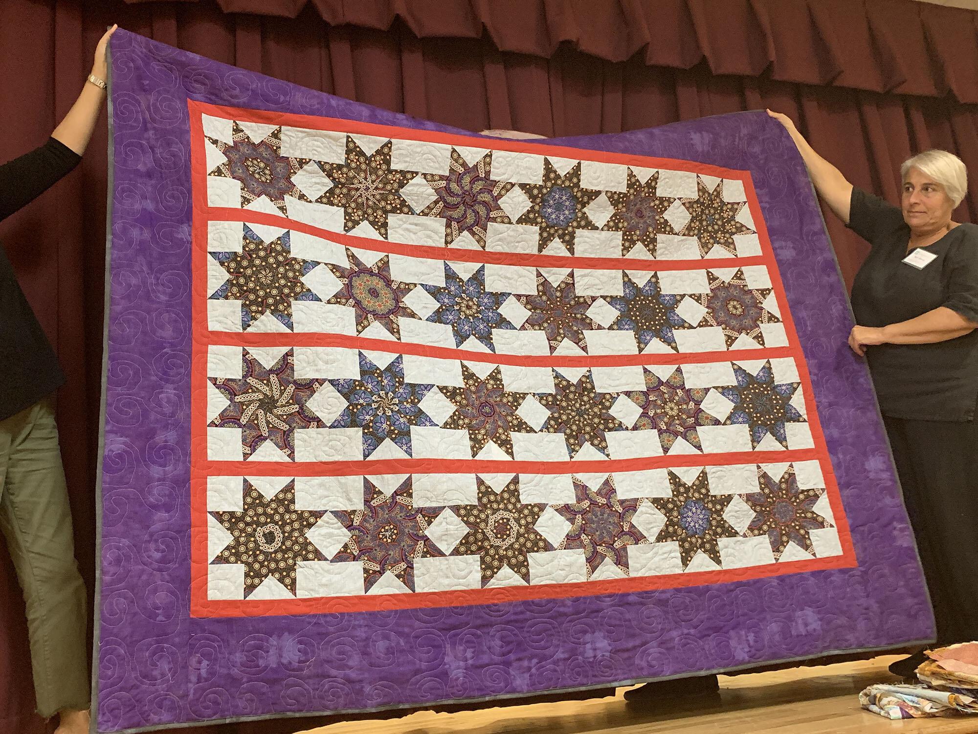 Eliot's quilt by Merrie Handfinger