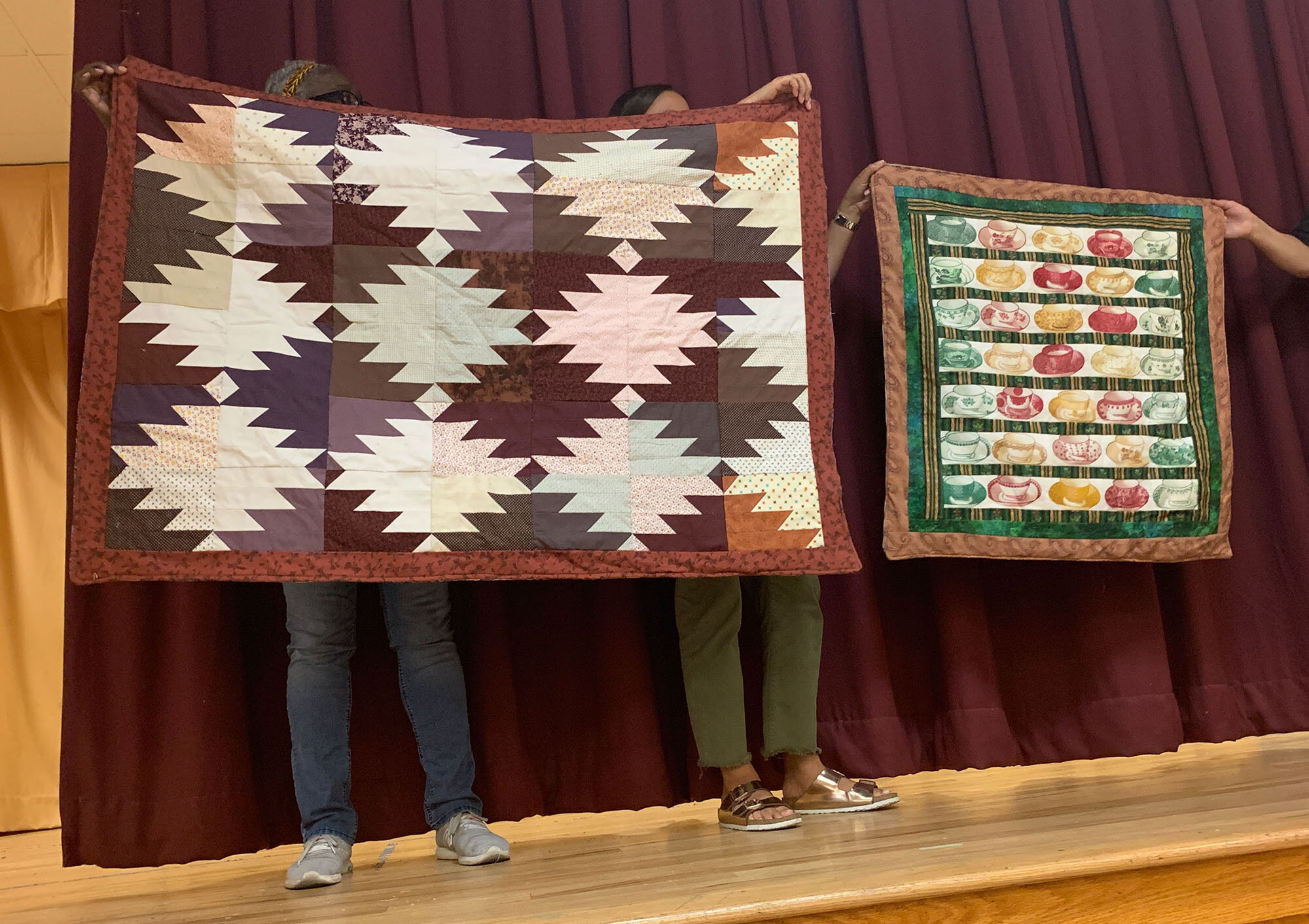 Two quilts by S. Judith Shea