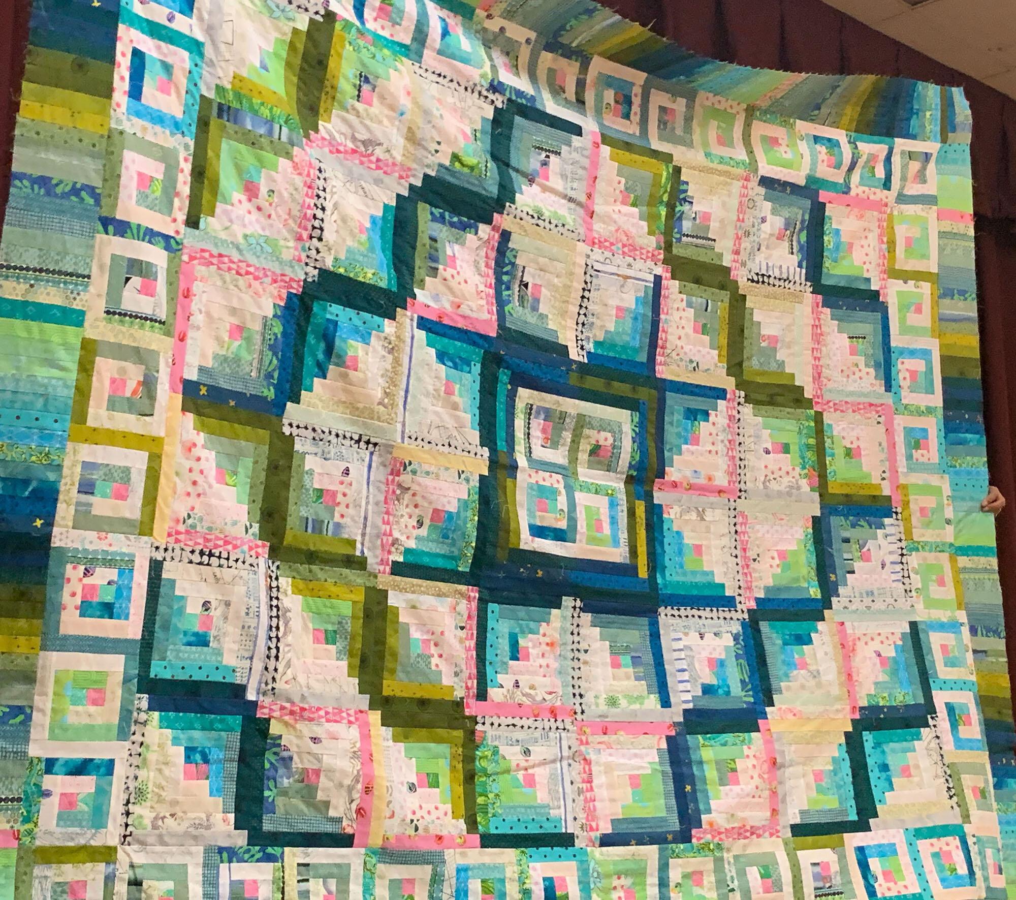 Izzy's quilt by Wendy Menard