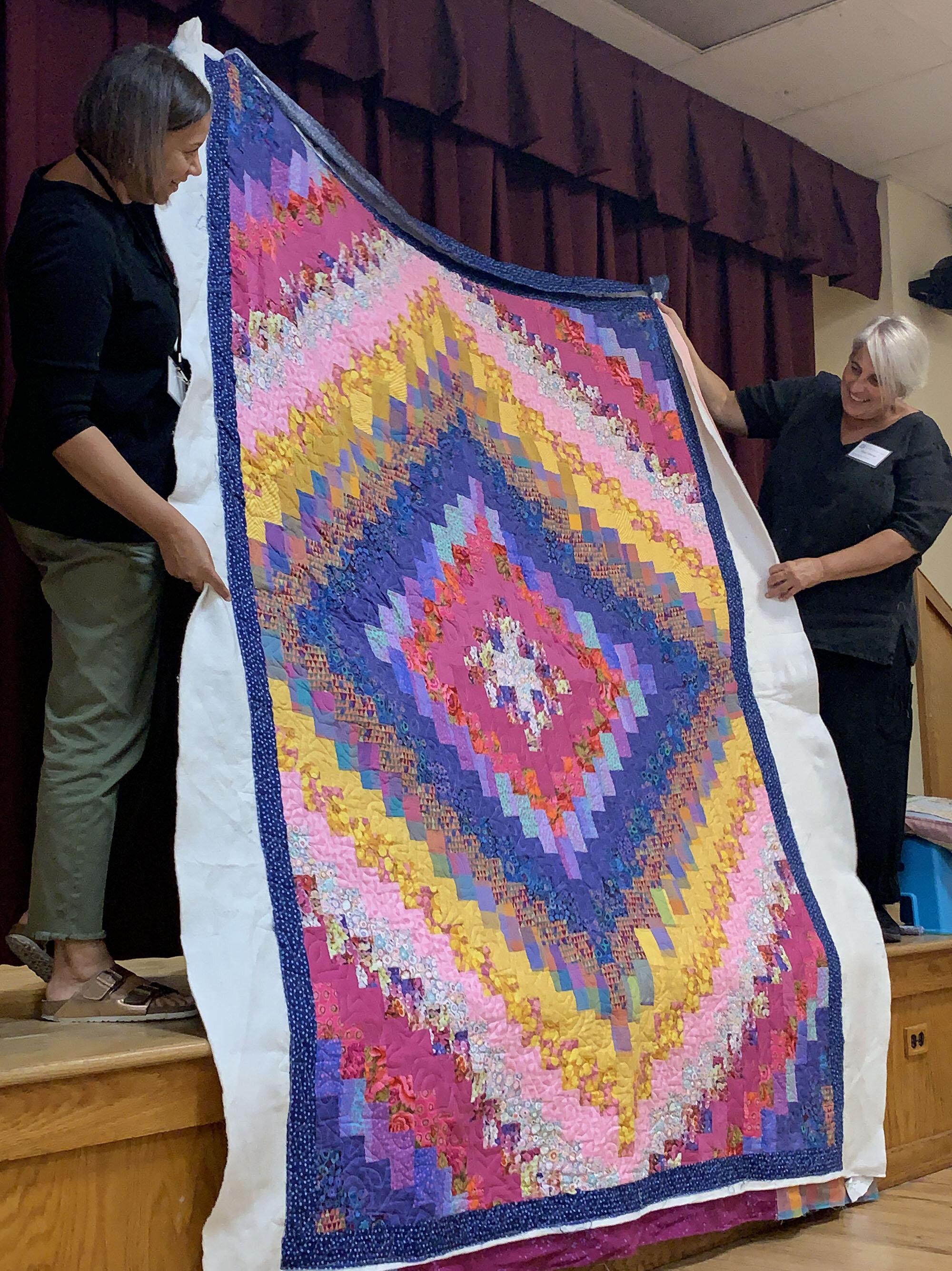 Jen's quilt by Alice Braziller