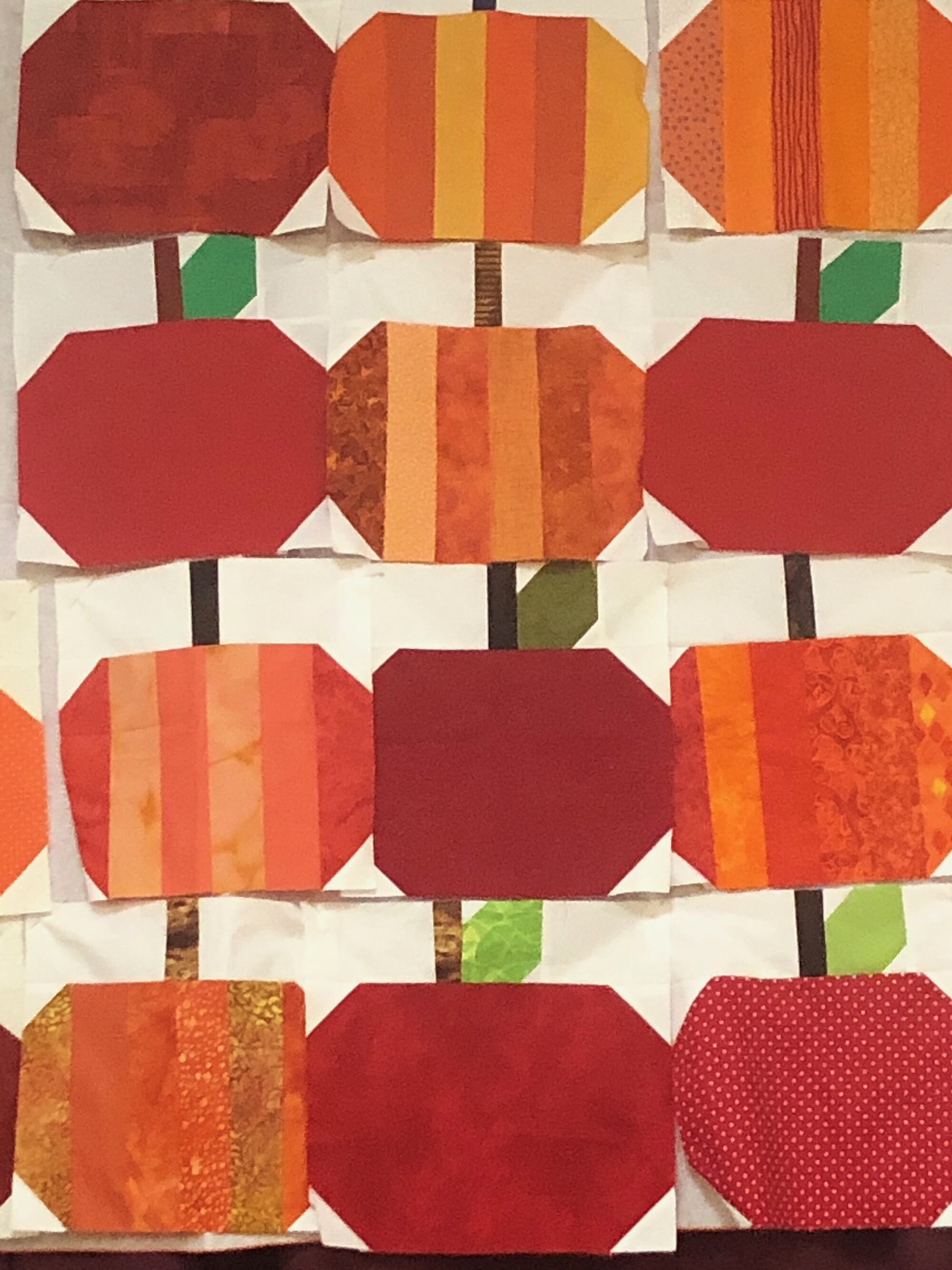 Sampling of October blocks of the month. Thank you to Madi Appell and Kathy Clarke for organizing this year's BOM