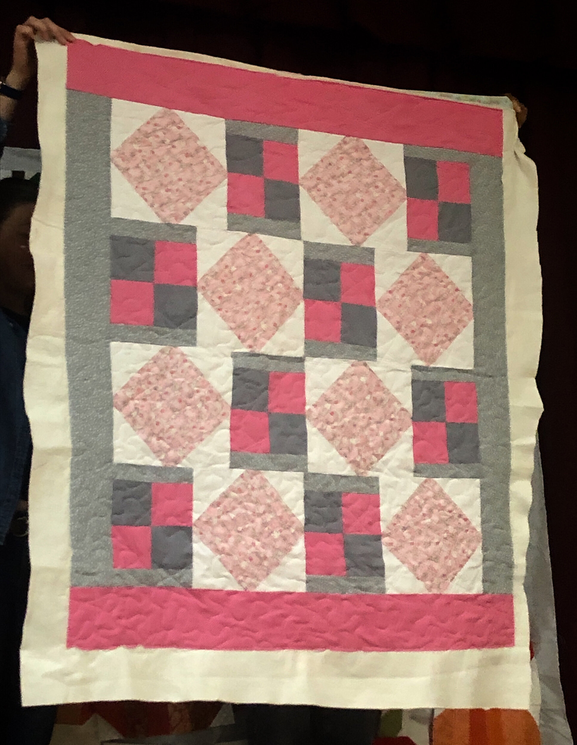 Thadine Wormly, baby quilt for Loretta