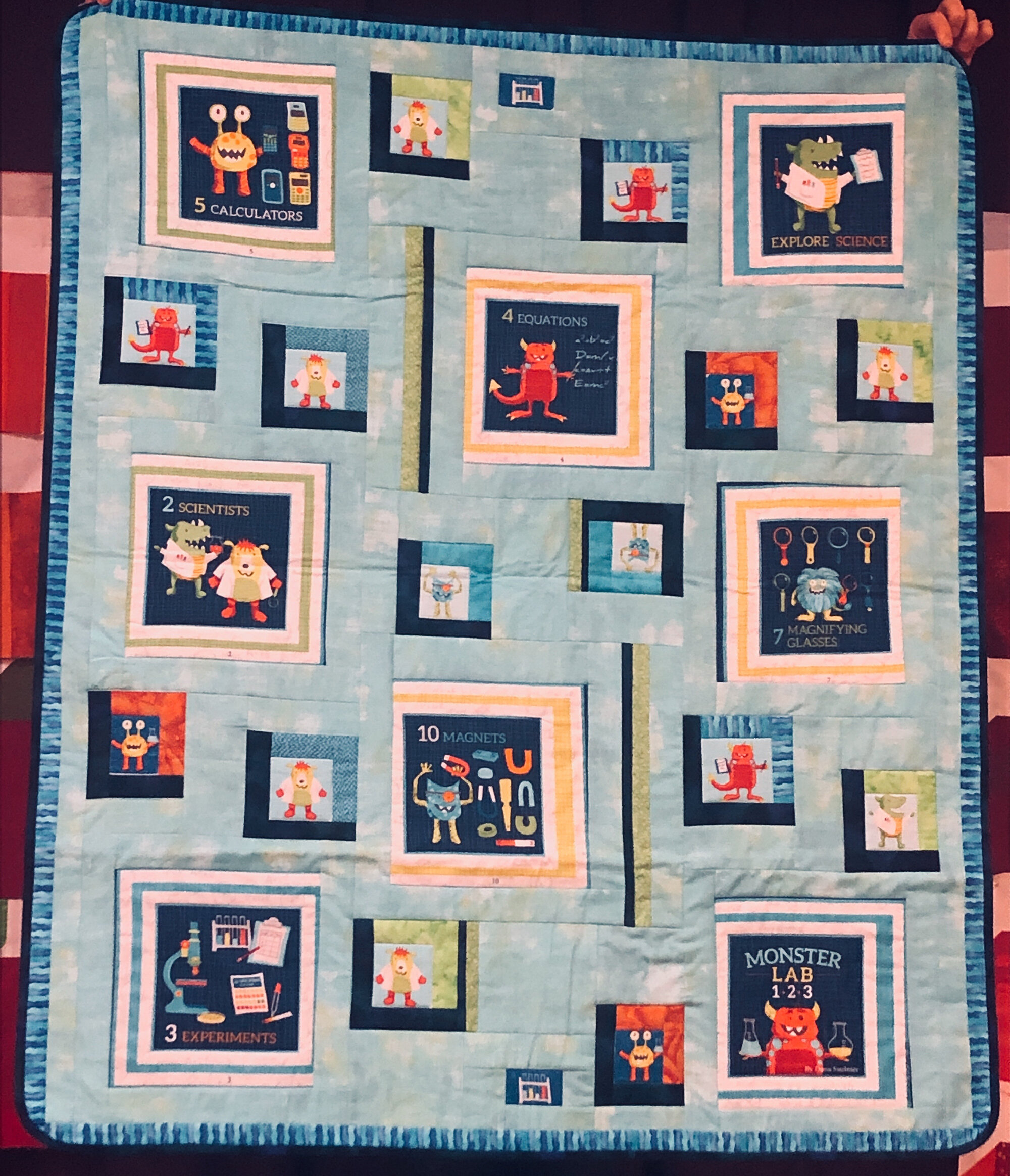 Ruth Marchese, baby quilt
