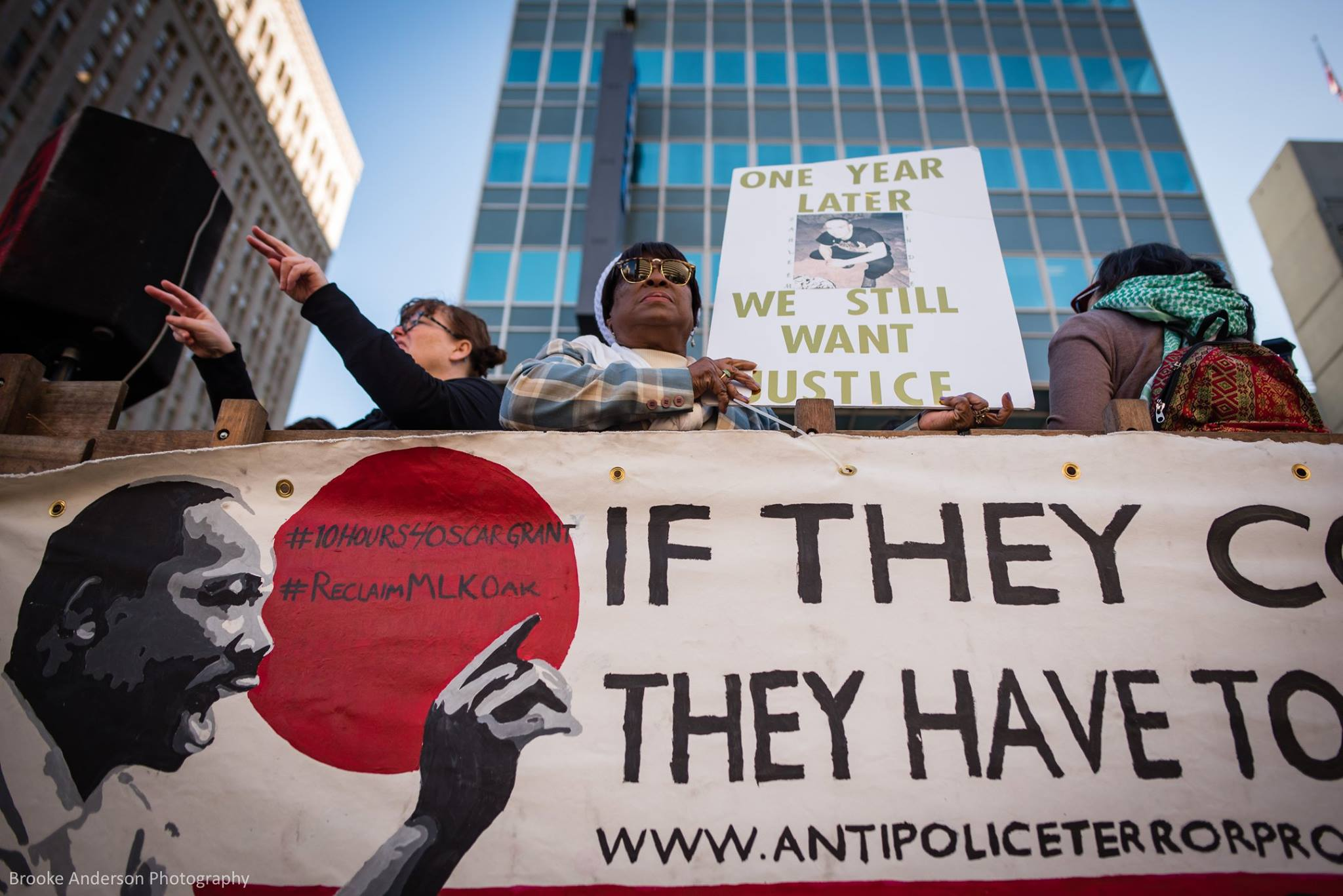 Photo by Brooke Anderson, Reclaim MLK March 2019