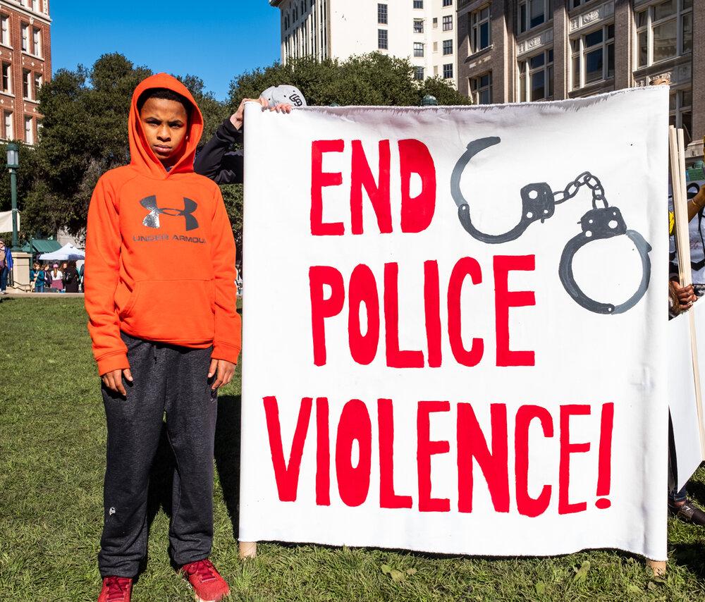 Photo by Amir Saadiq, Reclaim MLK March 2019