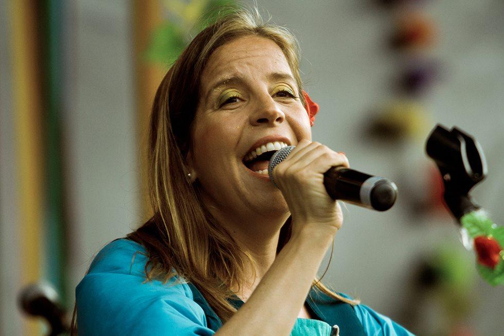 Magdalena Fleitas, creadora de Risas de La Tierra