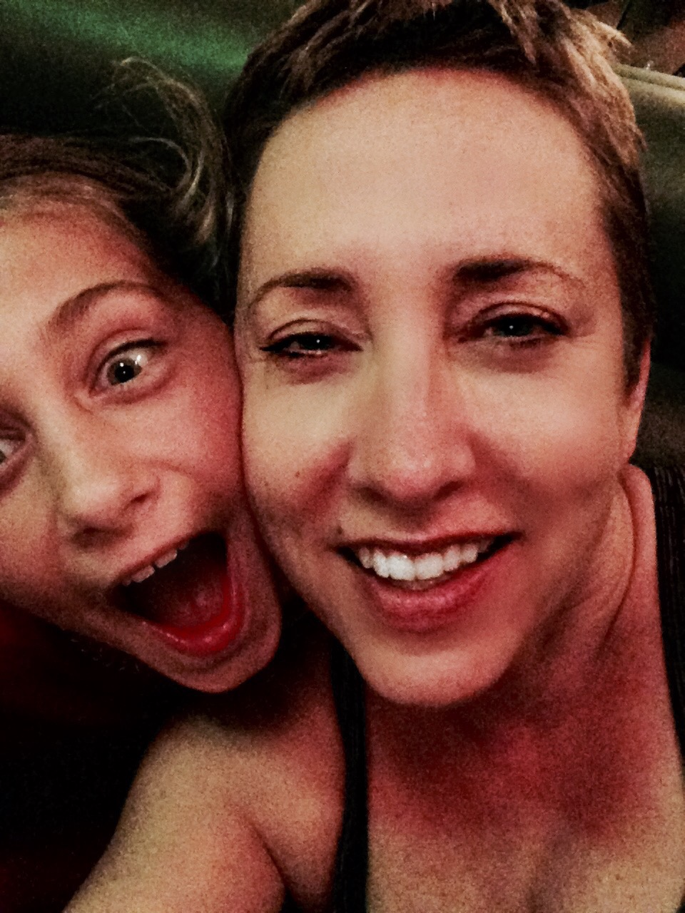 Mother/daughter selfie!