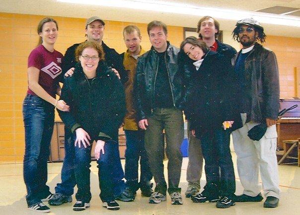 With the UCB Harold Team, My Kickass Van
