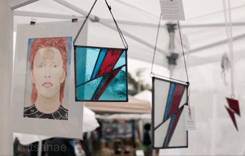 Bowie Art Display