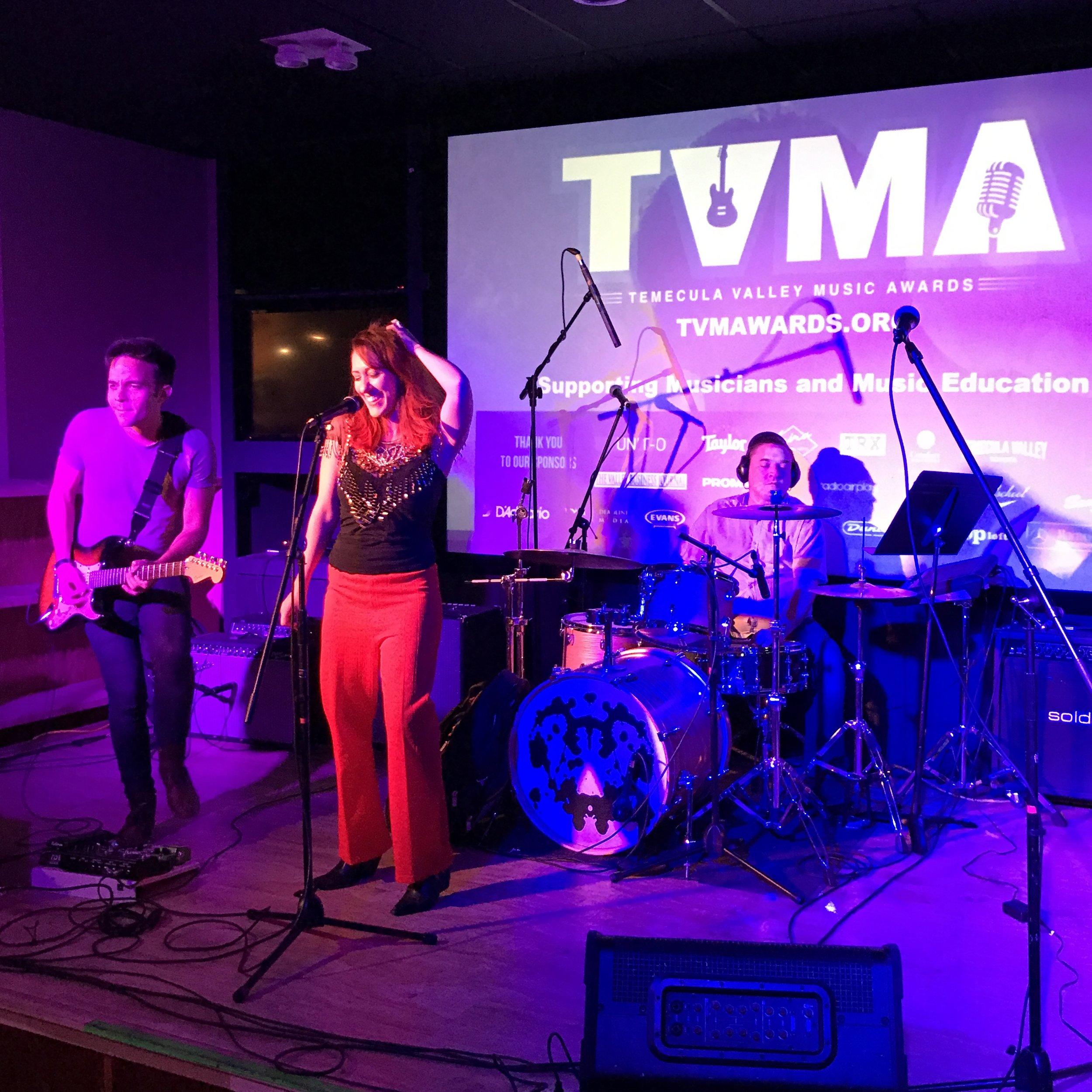 Dree Mon at Temecula Valley Music Awards.JPG