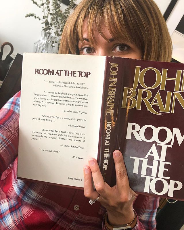 "On the latest @75reads episode, @aprilthebowlby and I are talking the first half of Room At The Top by John Braine. And okay okay, we know we said that our previous read was our favorite yet. Let's just say that this is our favorite fiction book on the list thus far. And a Bowie character clearly comes to mind while reading this book! Clearly. We see him in several of the characters actually, especially the protagonist, Joe. ""Which Bowie character?"" You ask. The Thin White Duke. We see him everywhere! Would love to know if you agree. #podcastlove #booklove #bookclubbing #Bowie"