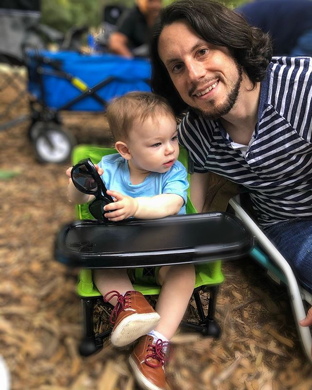 You're such a patient, kind, and loving daddy. Asher is one lucky boy. Happy Father's Day, @ag457! #FathersDay2019 #leadingbyexample #familygoals #fatherandsonbond #AsherTAndMe
