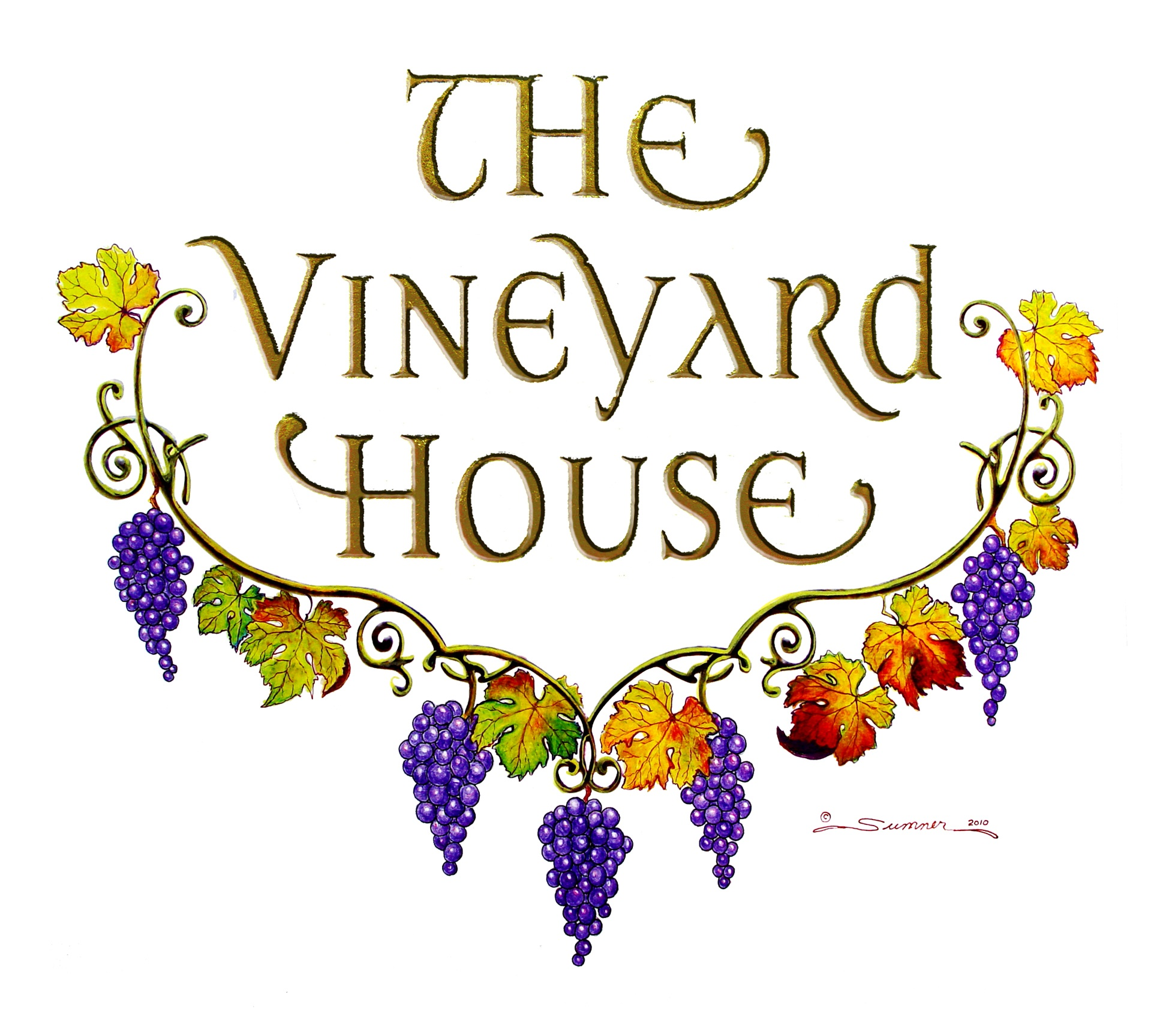 The Vineyard House Label
