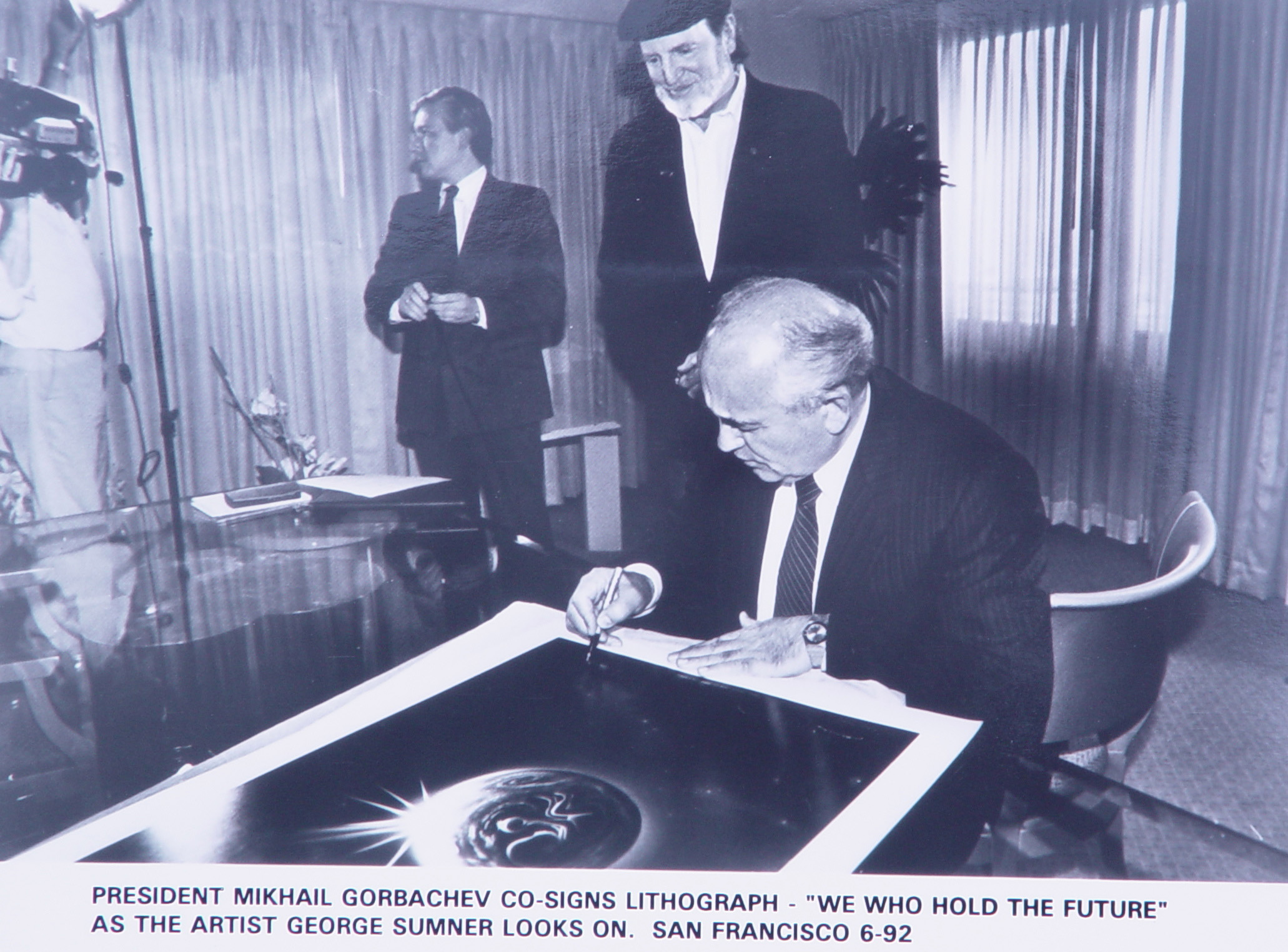 President Gorbachev & George Sumner