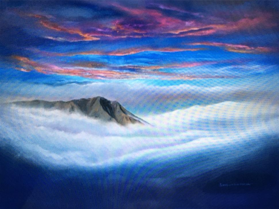 Mt. Tam Strawberry Skies Forever