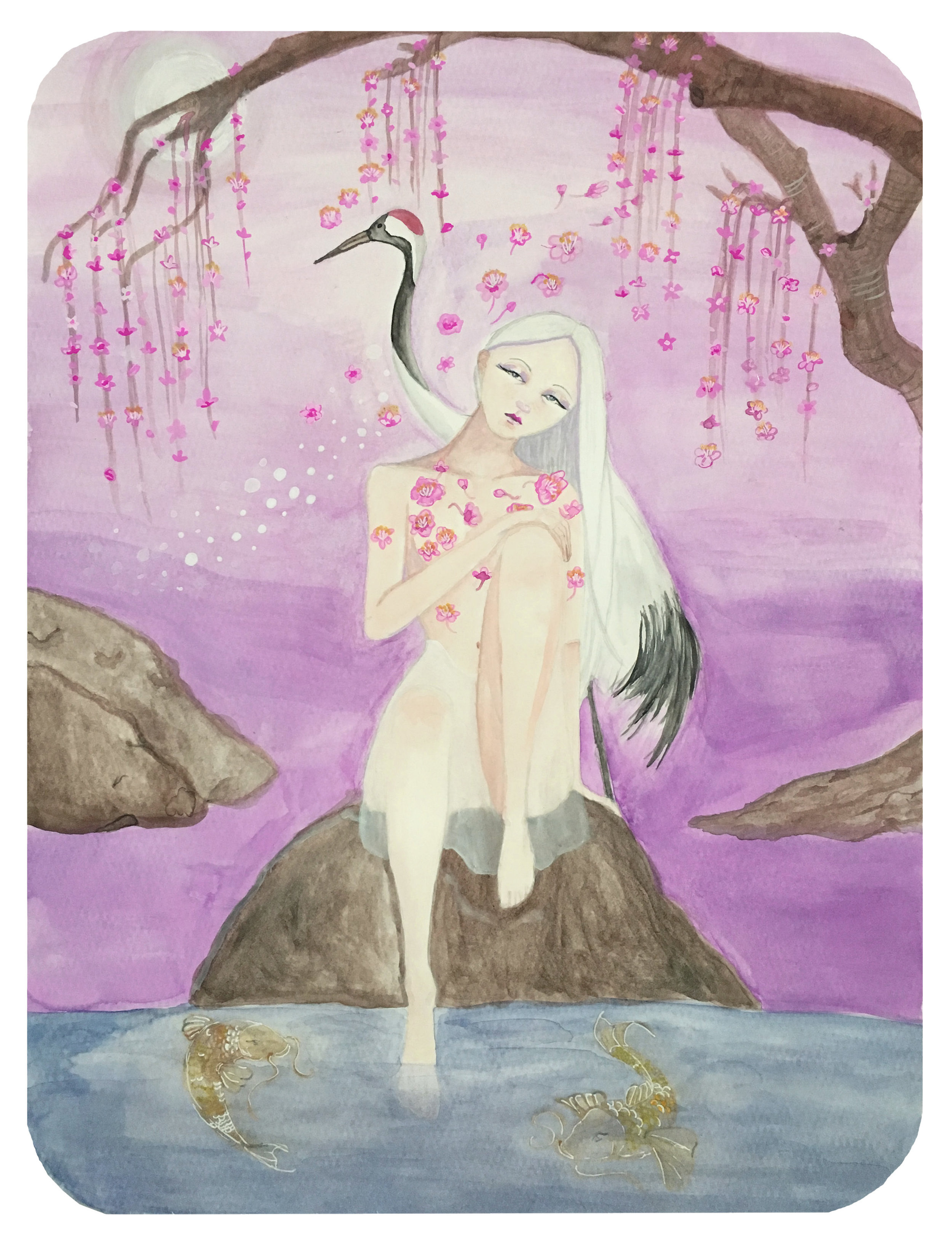Japanese Pond_Elle Powell Art.jpg