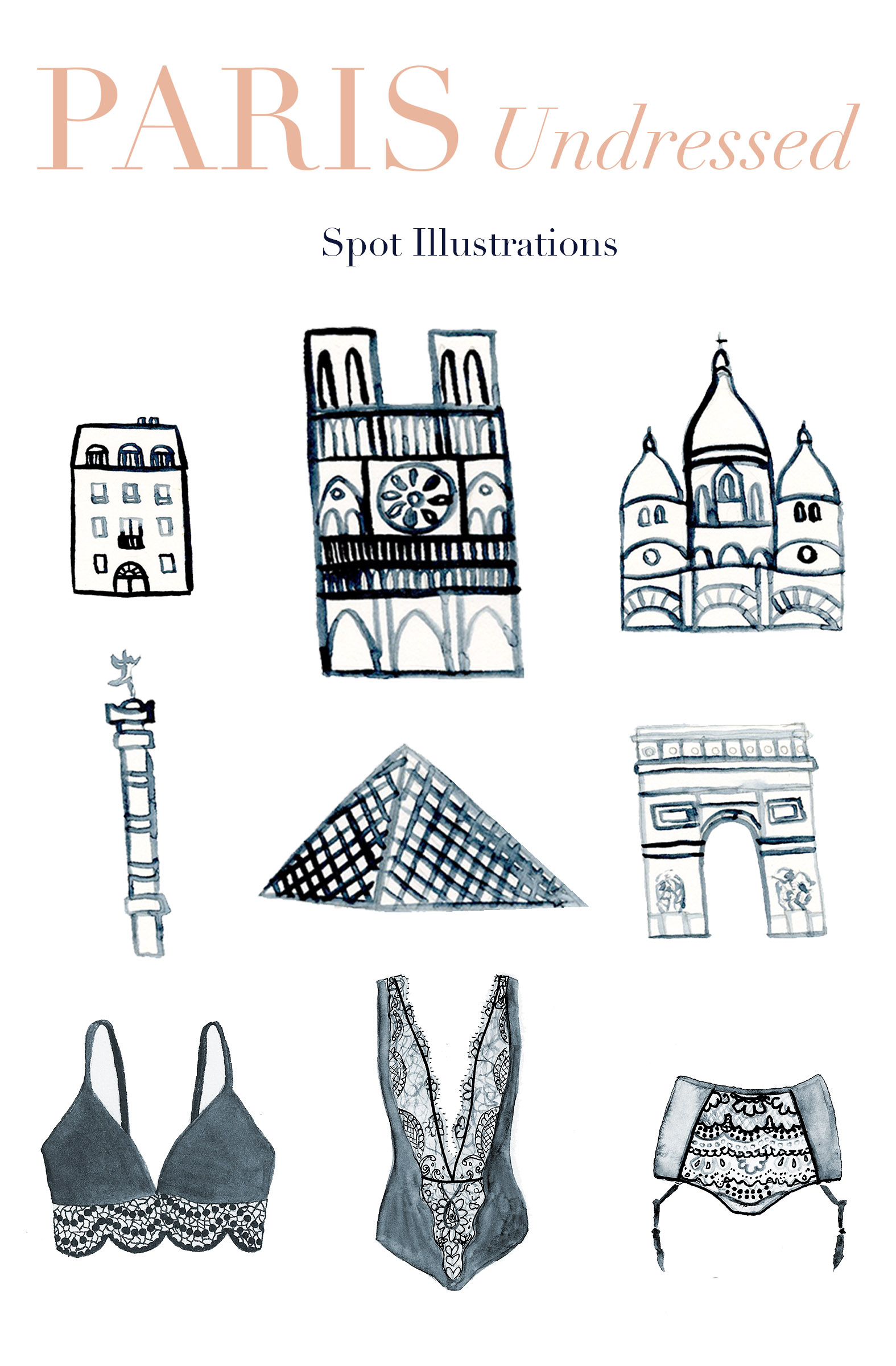 Paris Undresed Spot Illustrations Elle Powell.jpg