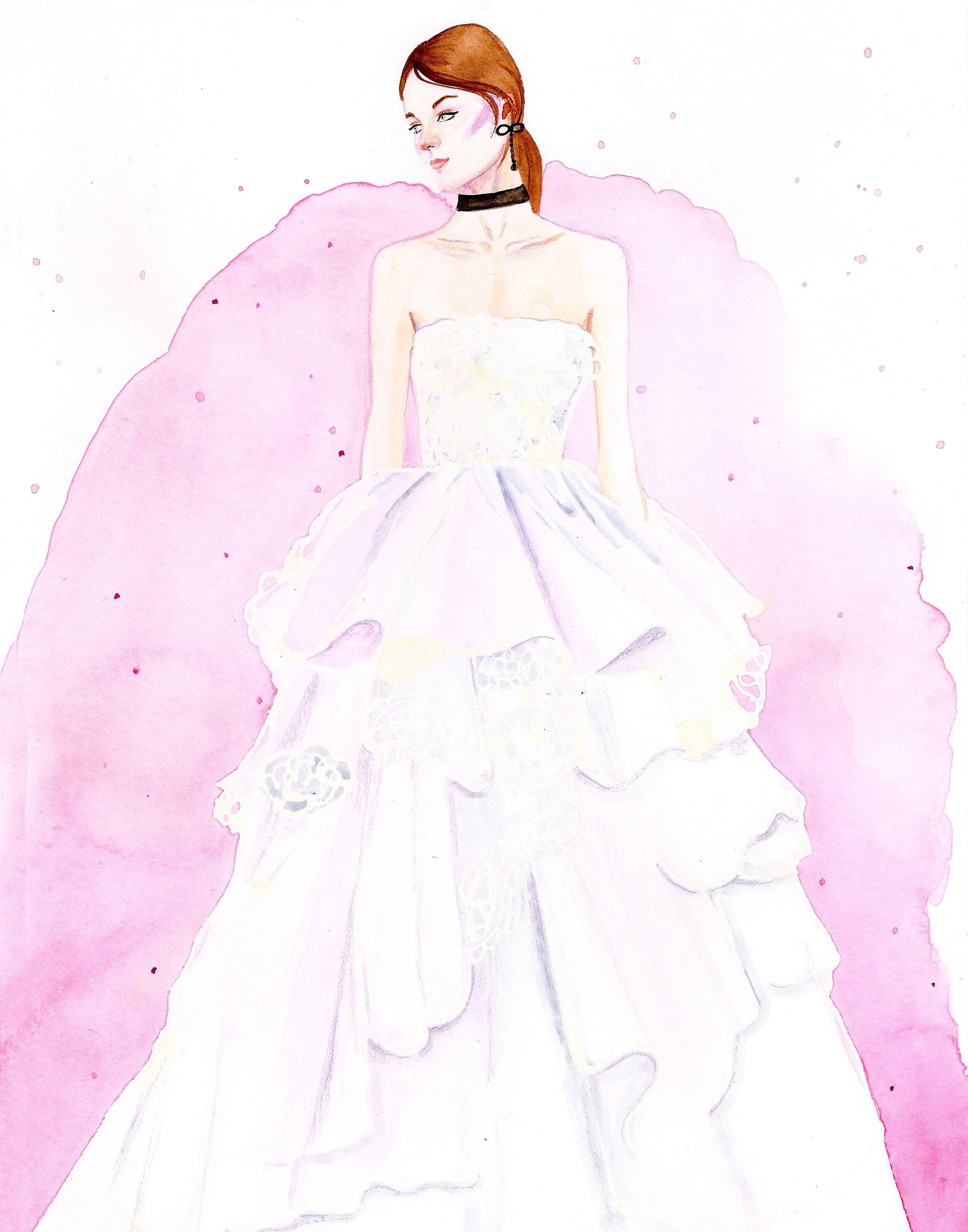 Marchesa Spring 2018 Bridal