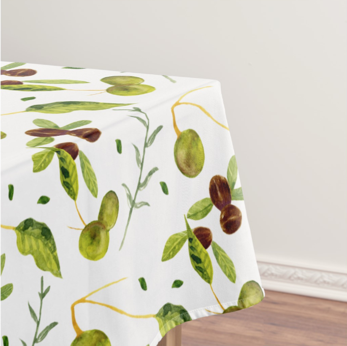 Elle Powell Art Custom Floral Printed Tablecloth.png