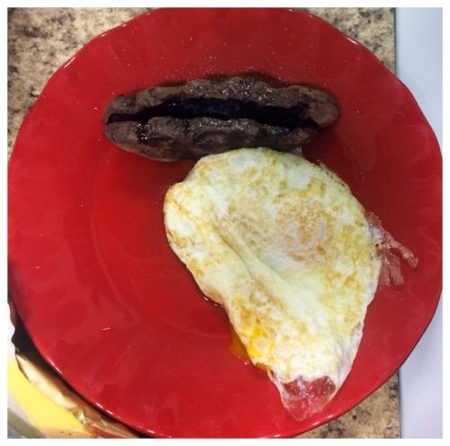 5A - 3 eggs + sweet tater + butter